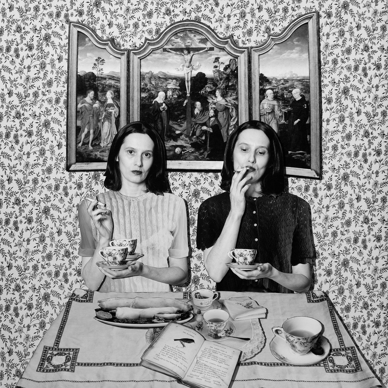 A photograph by Cornelia Hediger from the Puppenhaus series.