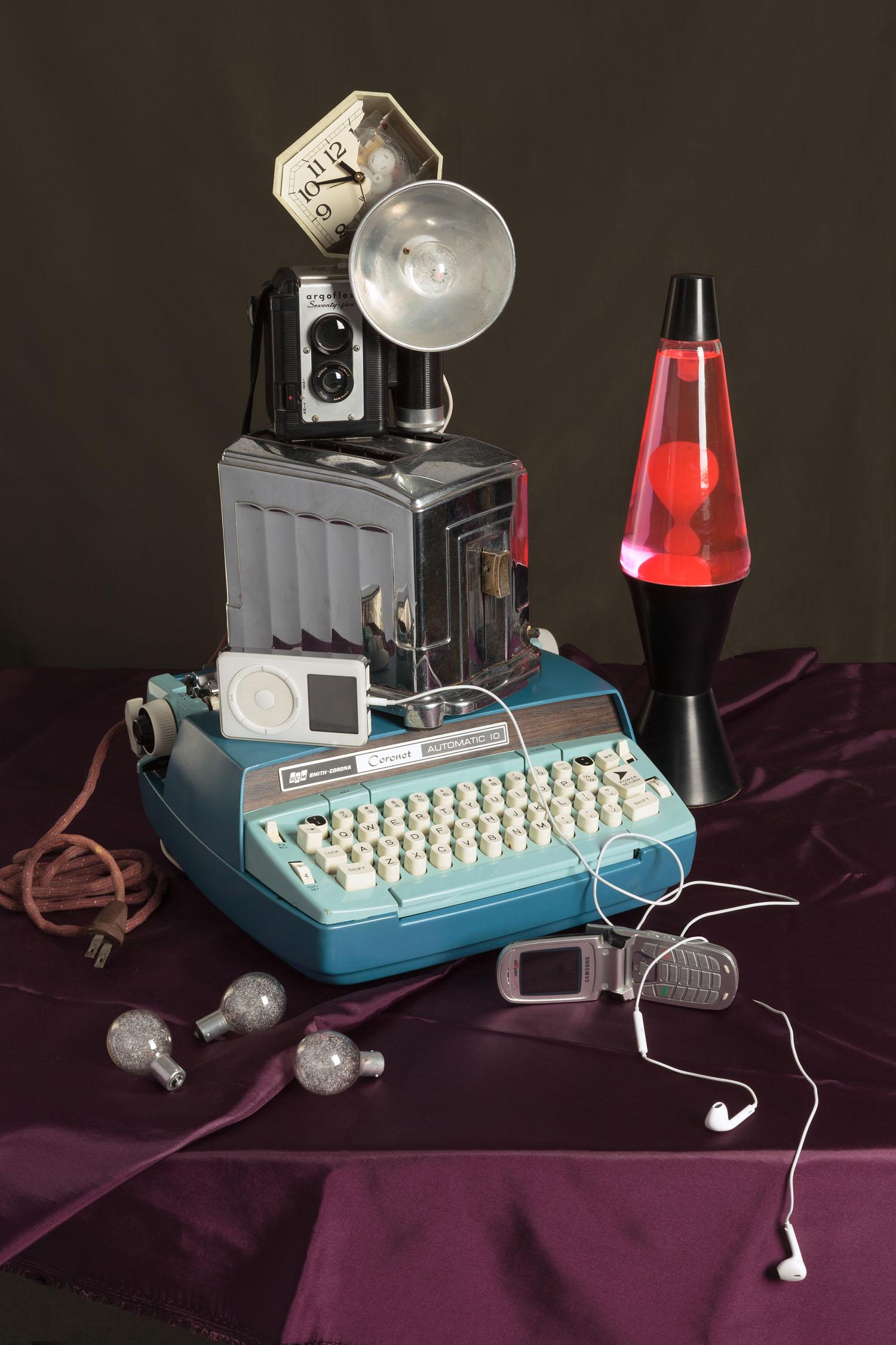 Blue Typewriter (2015)