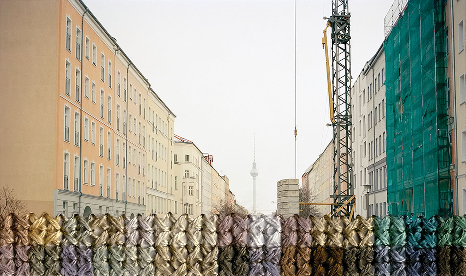 A photograph from the Berlin series by Diane Meyer.