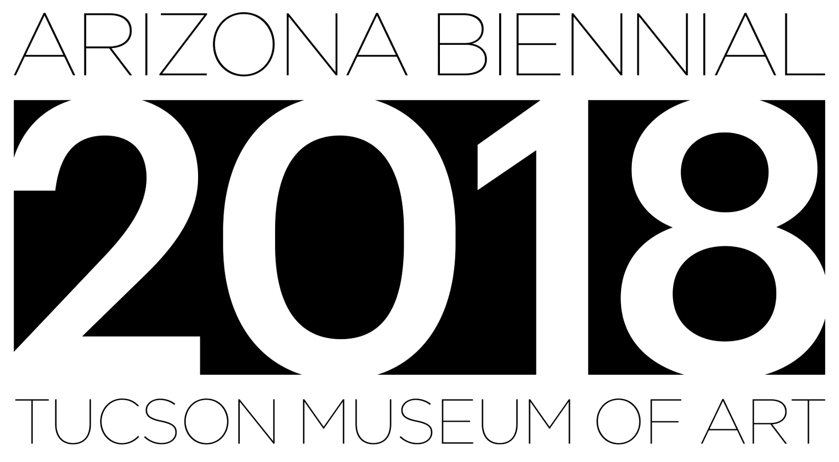 Graphic for the Arizona Biennial 2018.