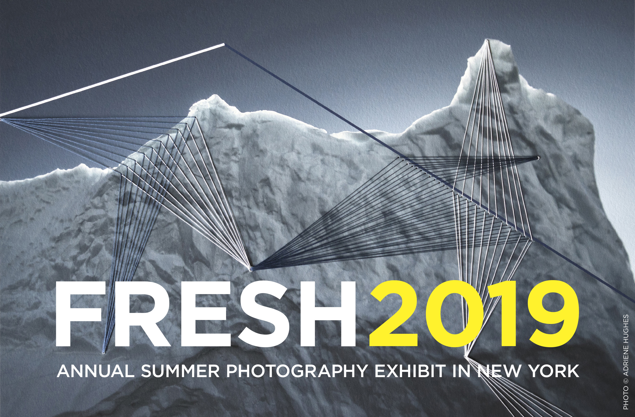 Marketing graphic for the Fresh 2019 Annual Summer Photography Exhibit in New York.