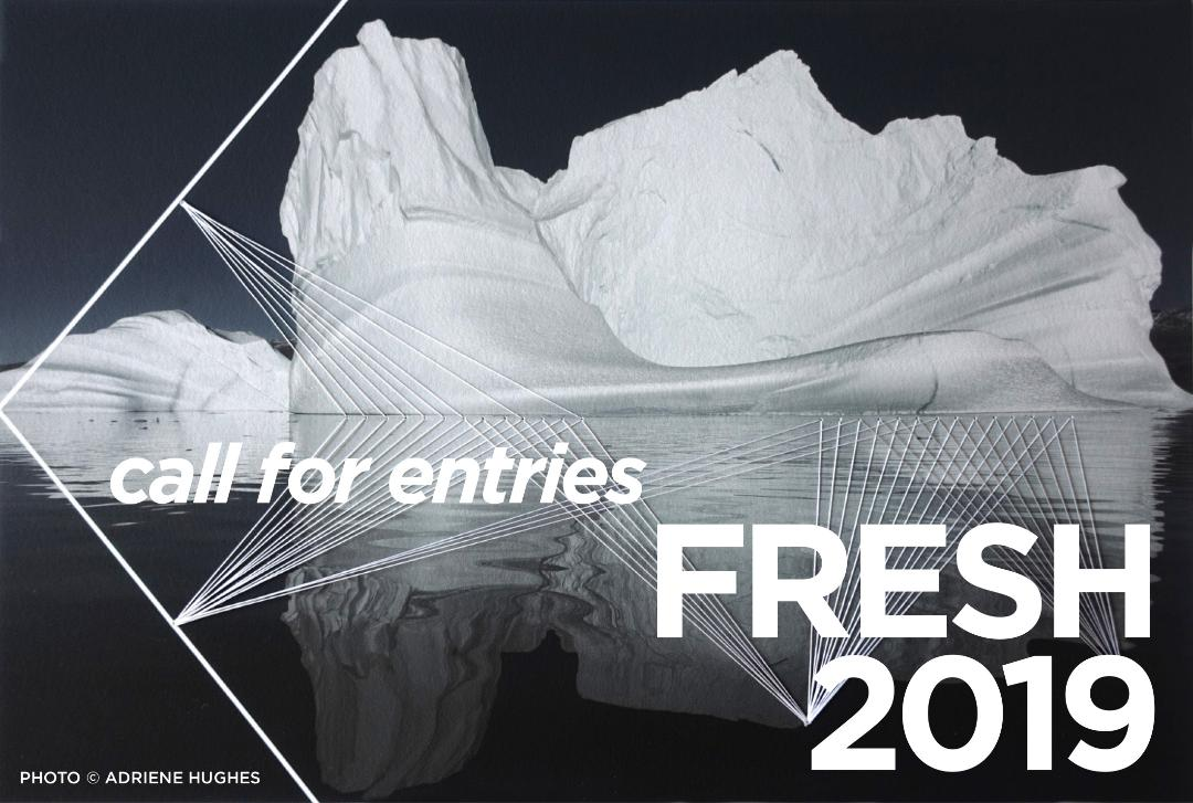 Image announcing 'Fresh 2019 Annual Summer Photography Exhibit in New York' with image by Adriene Hughes.