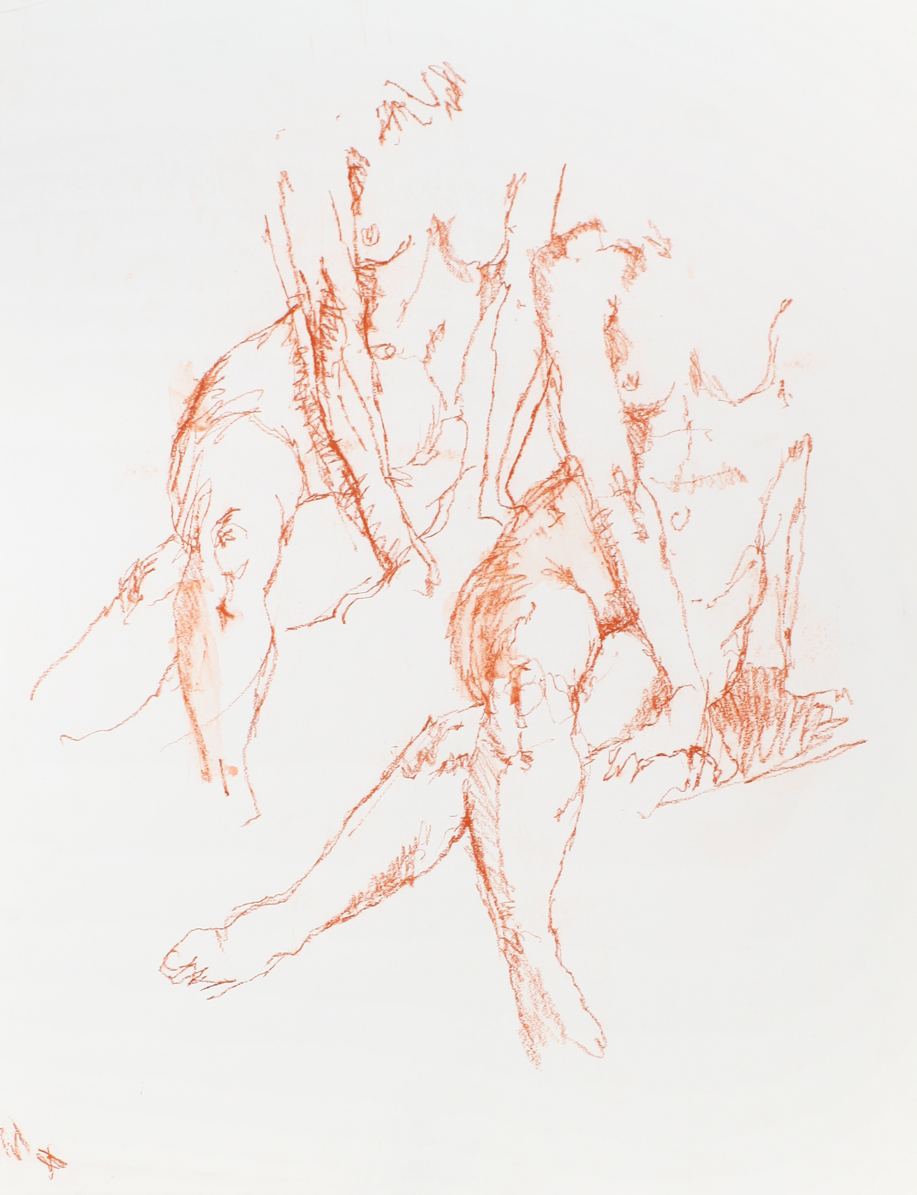 1980s_Double_Nude_with_Crossed_Legs_red_conte_on_paper_22x17in_WPF475.jpg