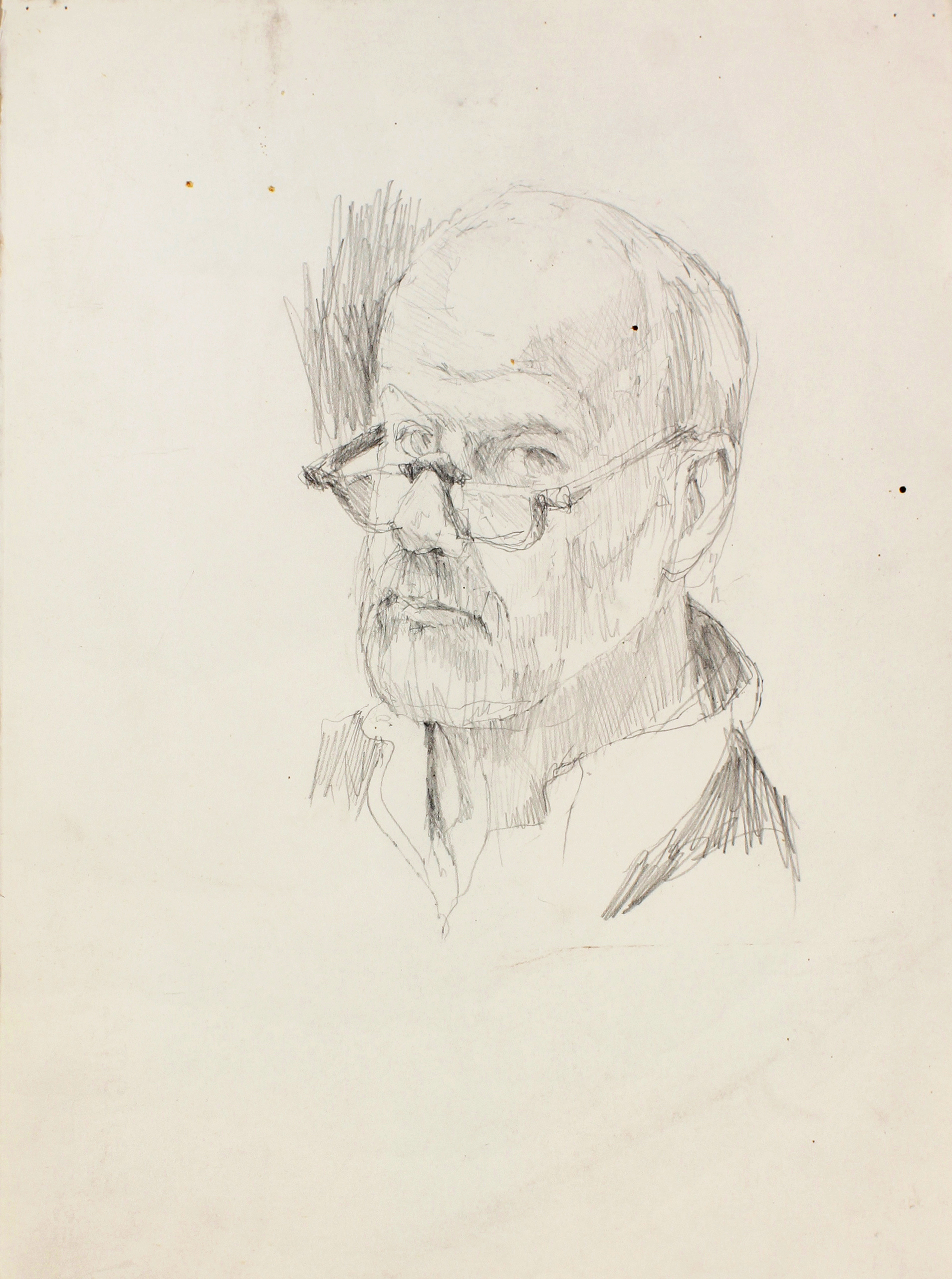 1990s_Self_Portrait_with_Glasses_pencil_on_paper_14x10in_WPF494_IMG_3348.jpg