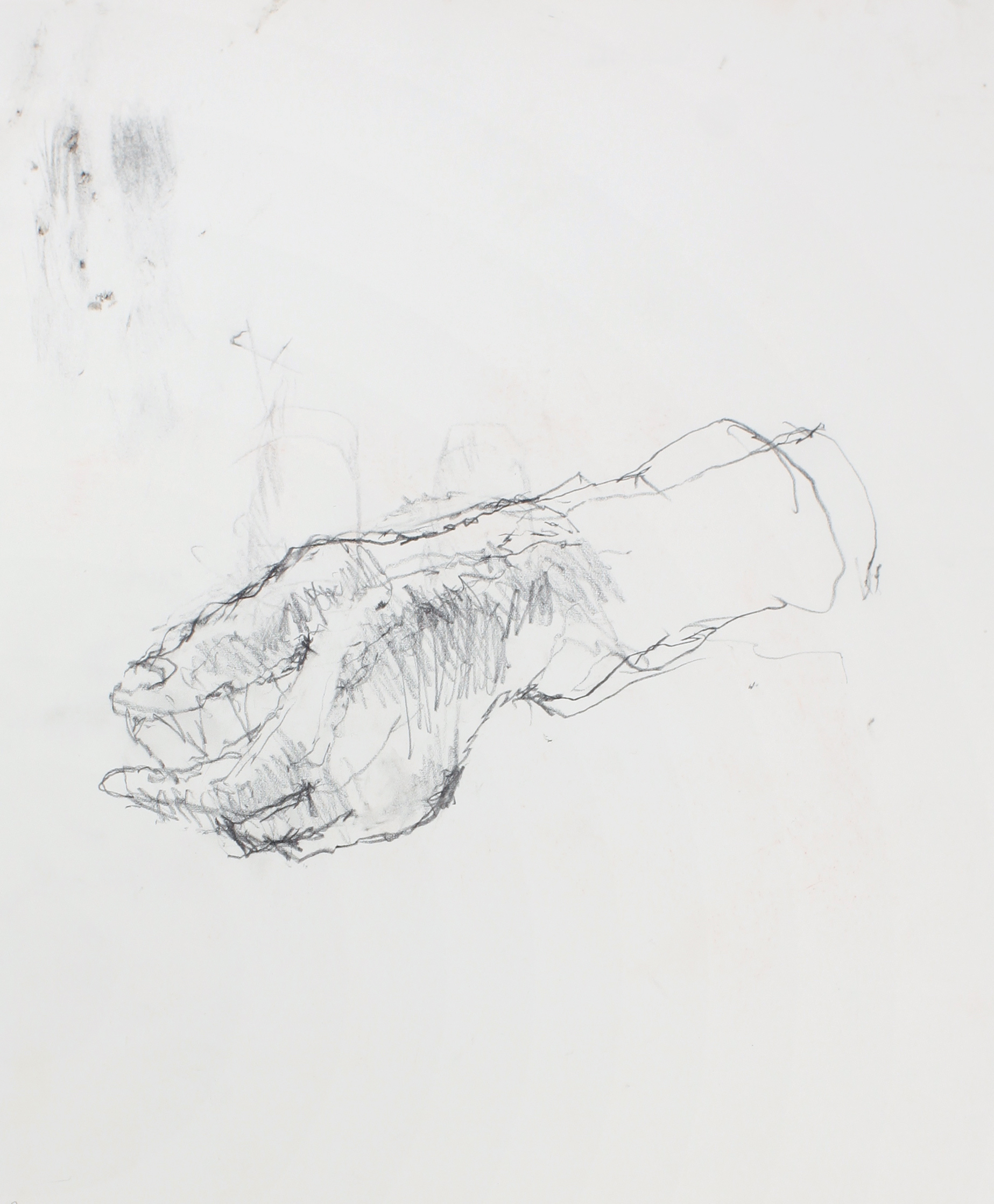 1990s_Study_of_Left_Hand_pencil_on_paper_14x11in_WPF585.jpg