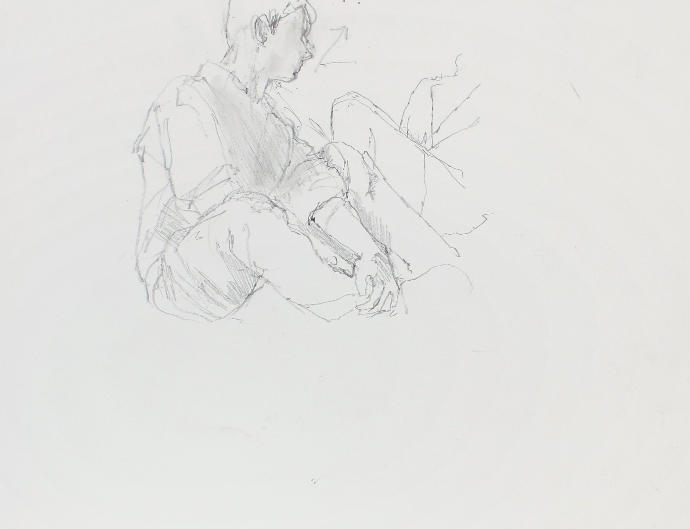 1998_Study_for_Olivier_(Couple)_pencil_on_paper_11x15in_WPF608.jpg