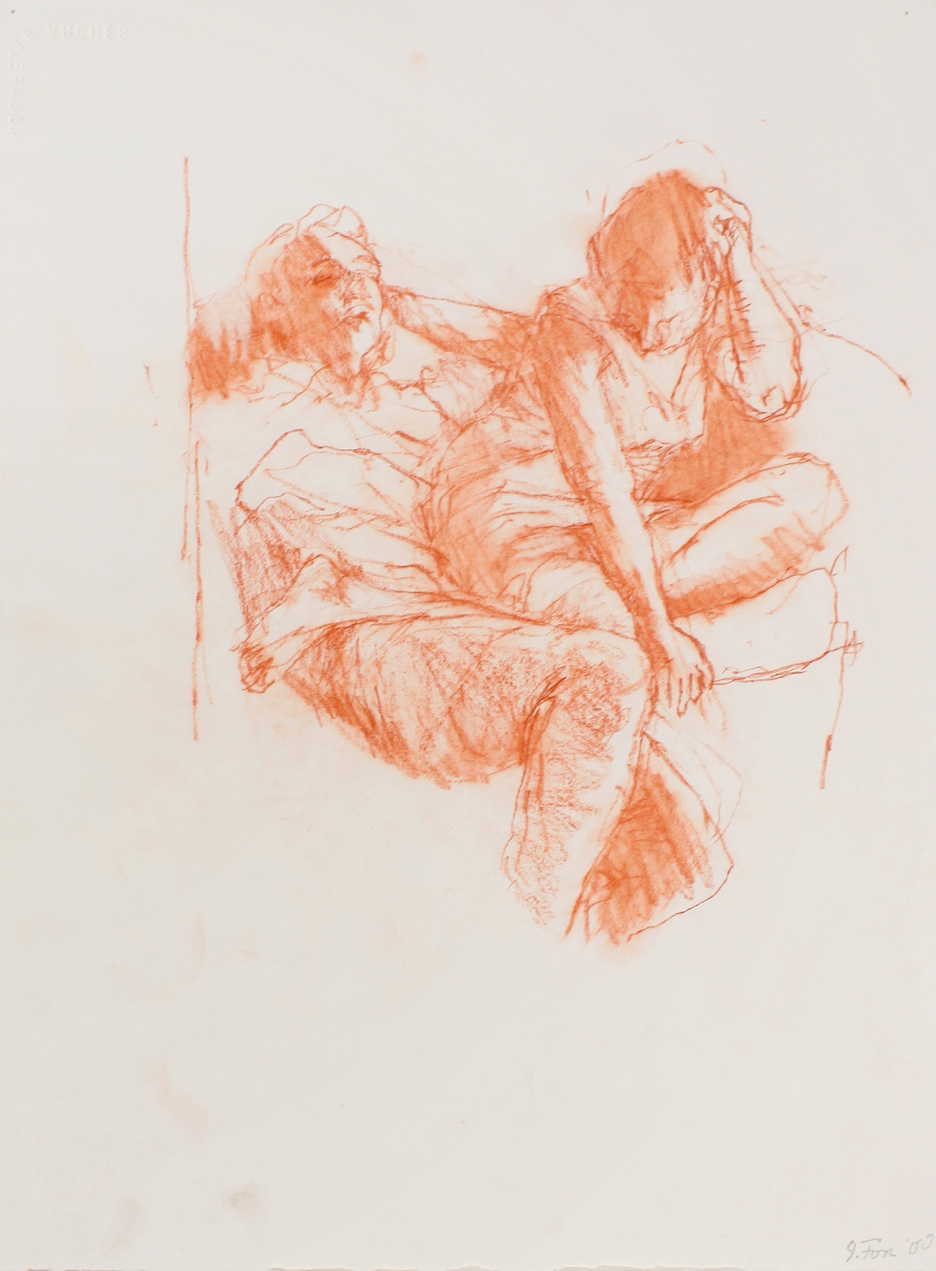 2000_Couple_Seen_through_Mirror_red_conté_on_paper_15x11in_WPF527.jpg