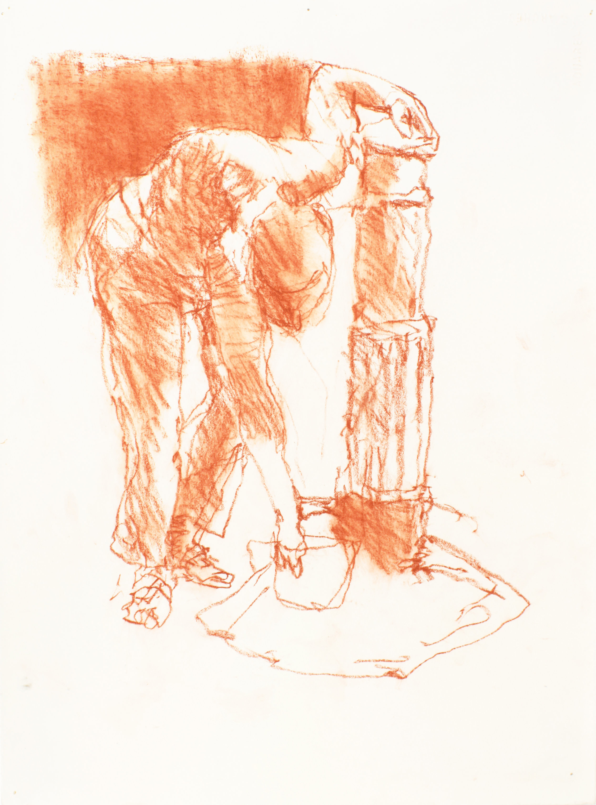 2000_Bending_Female_Figure_at_Water_Fountain_red_conte_on_paper_15x11in_WPF139.jpg