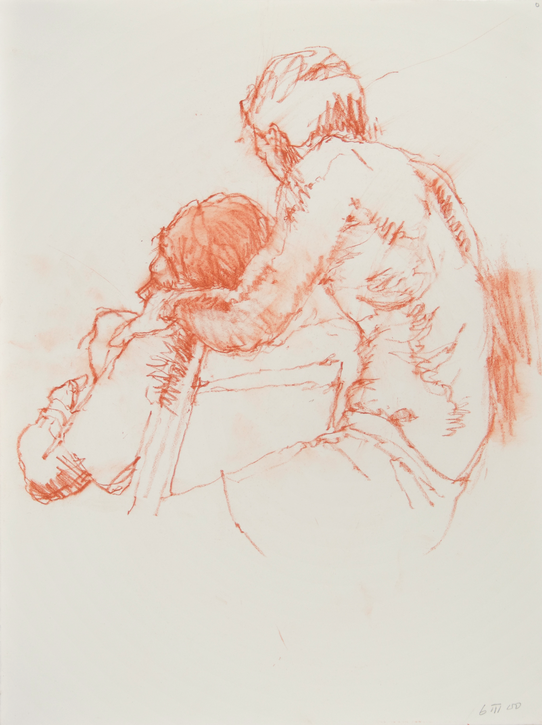 2000_Seated_Couple_with_Chair_red_conte_on_paper_15x11in_38x28cm_WPF407.jpg