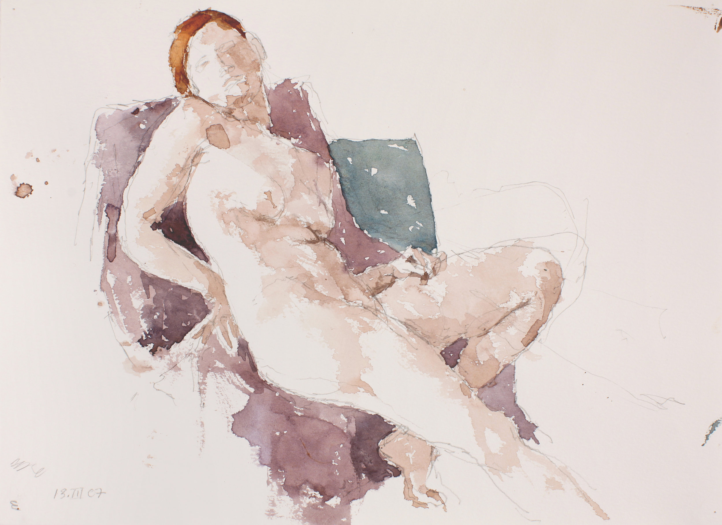 2007_Seated_Nude_with_Turned_Head_watercolour_and_pencil_on_paper_11x15in_WPF055.jpg