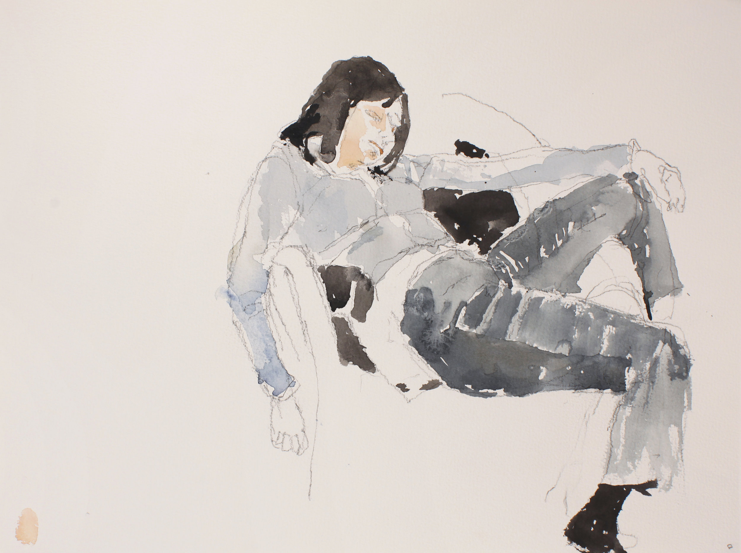 2007_Seated_Woman_in_Jeans_watercolour_and_pencil_on_paper_11x15in_28x38cm_WPF131.jpg