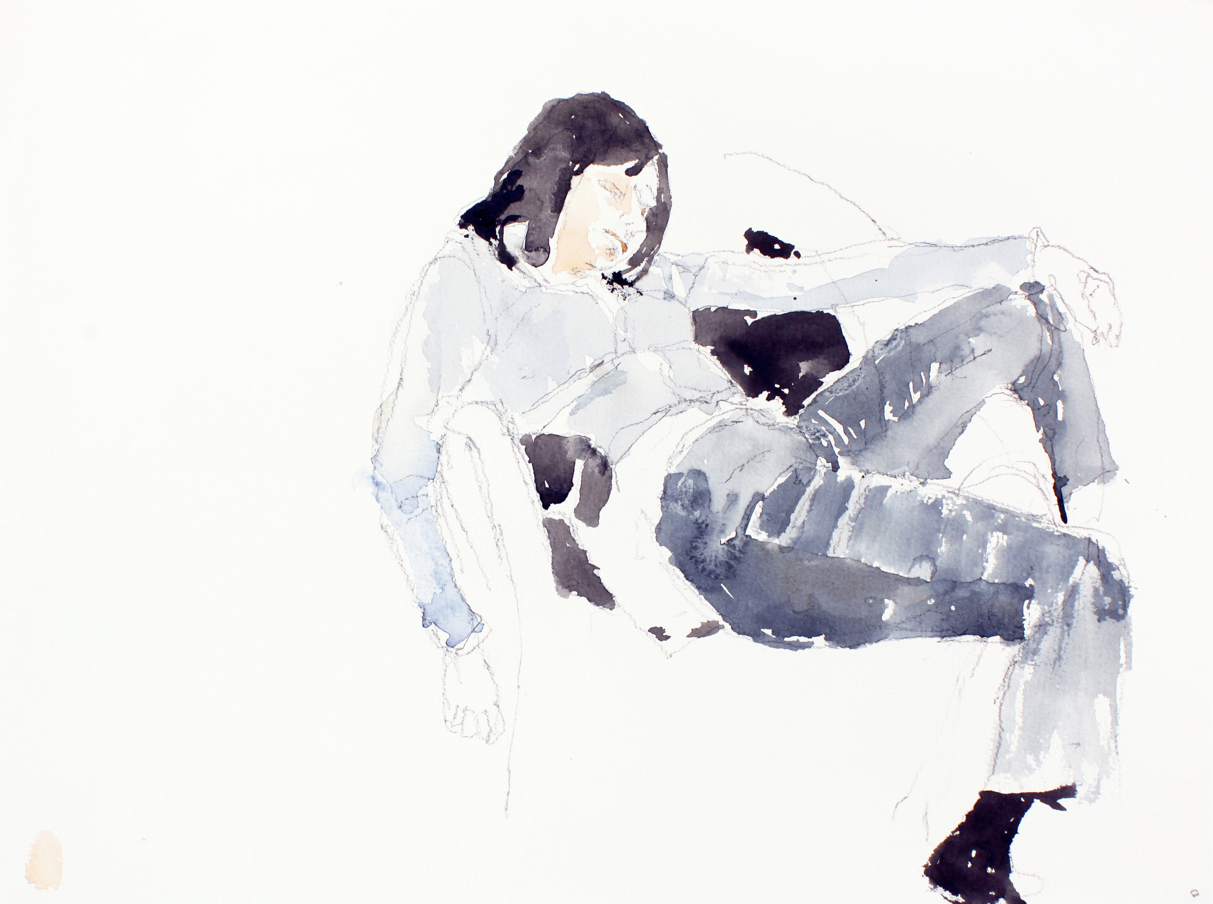 2007_Woman_in_Jeans_watercolour_and_pencil_on_paper_11x15in_WPF131.jpg