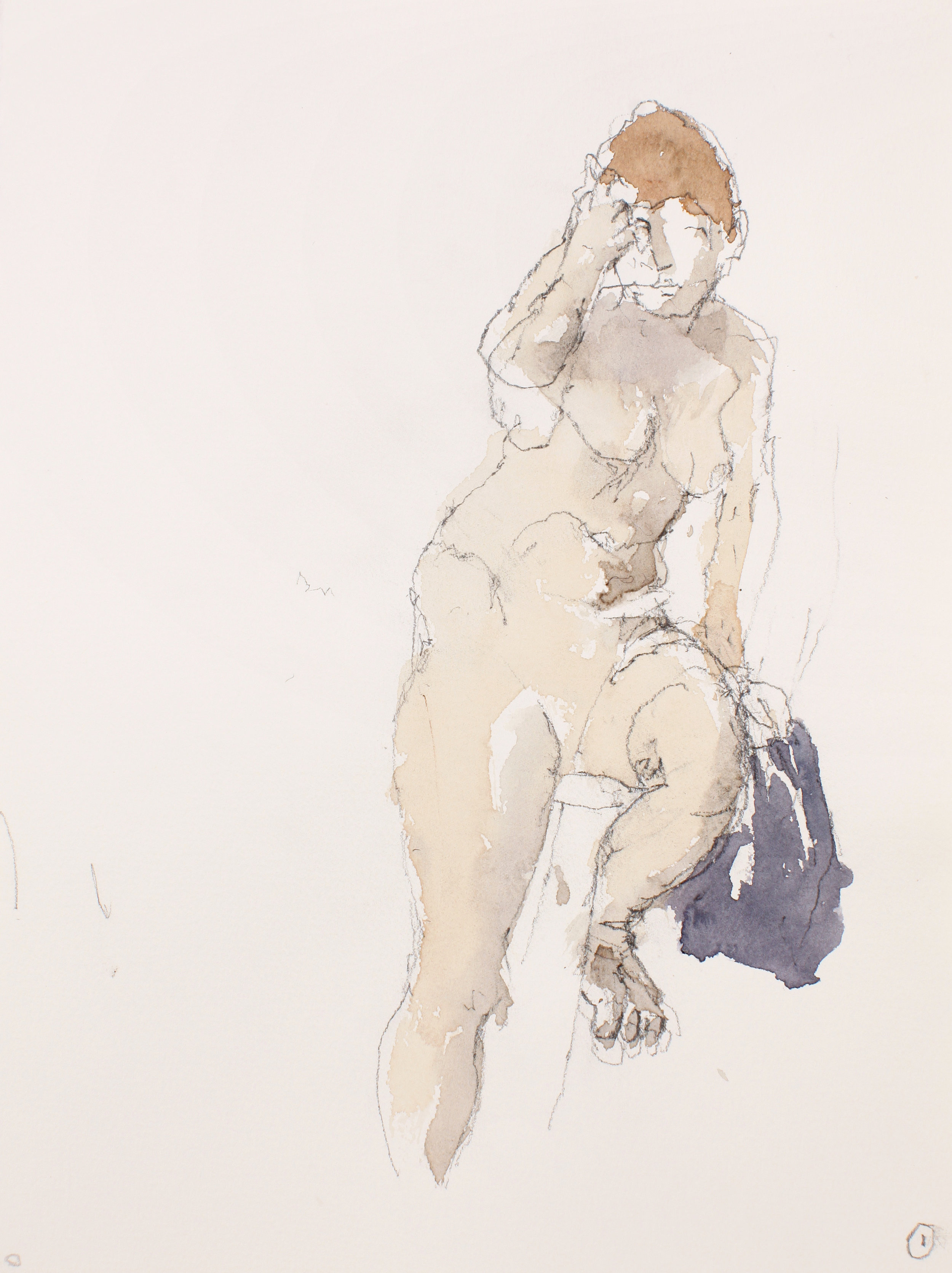 2008_Nude_on_Chair_with_Extended_Leg_in_Semi_Profilewatercolour_and_pencil_on_paper_15x11in_WPF573.jpg