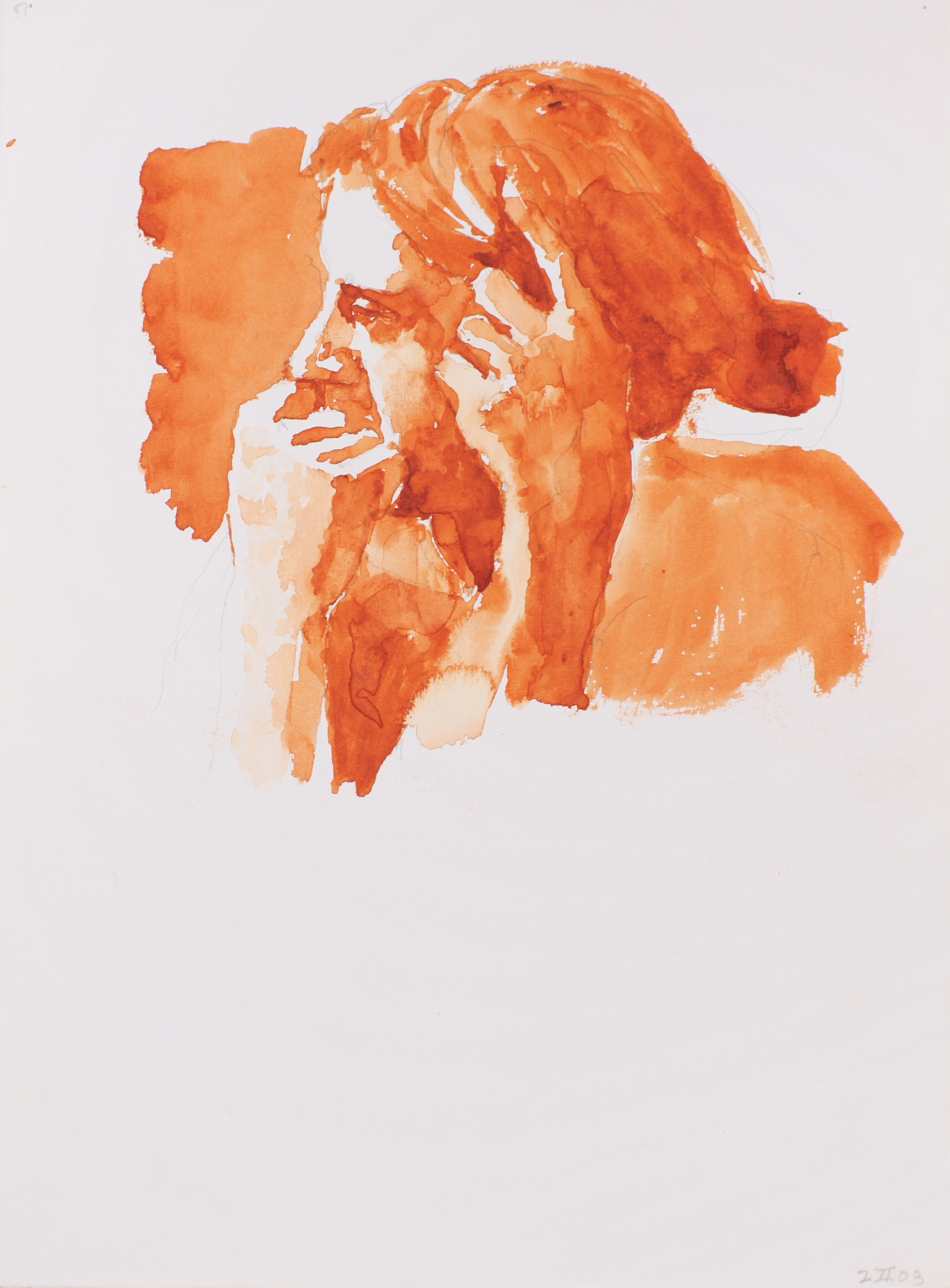 2003_Head_and_Hands_watercolour_and_pencil_on_paper_15x11in_WPF199.jpg