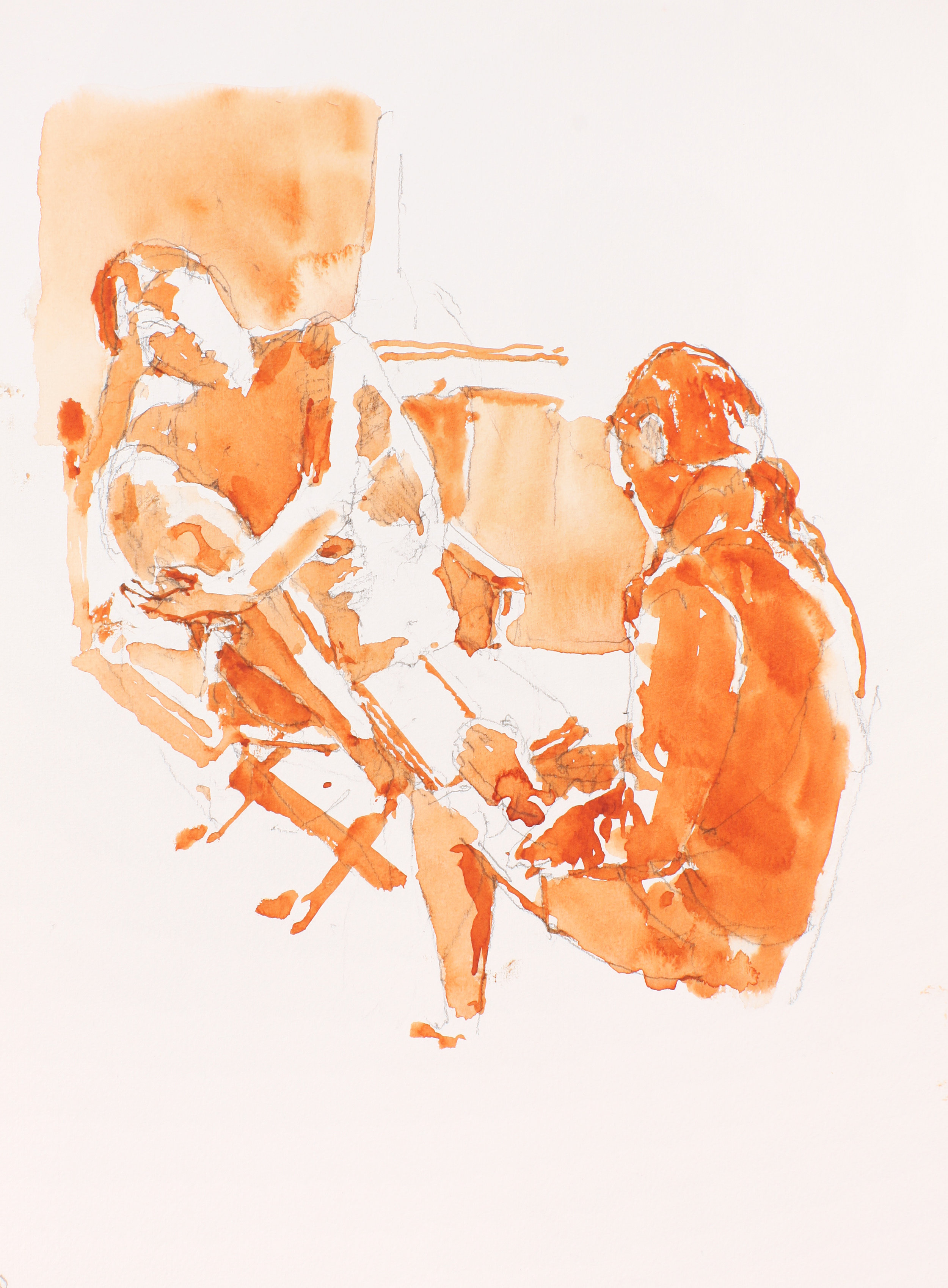 2003_Nude_in_Folding_Chaor_Seated_Figure_Wearing_Jacket_watercolour_and_pencil_on_paper_15x11in_WPF226.jpg