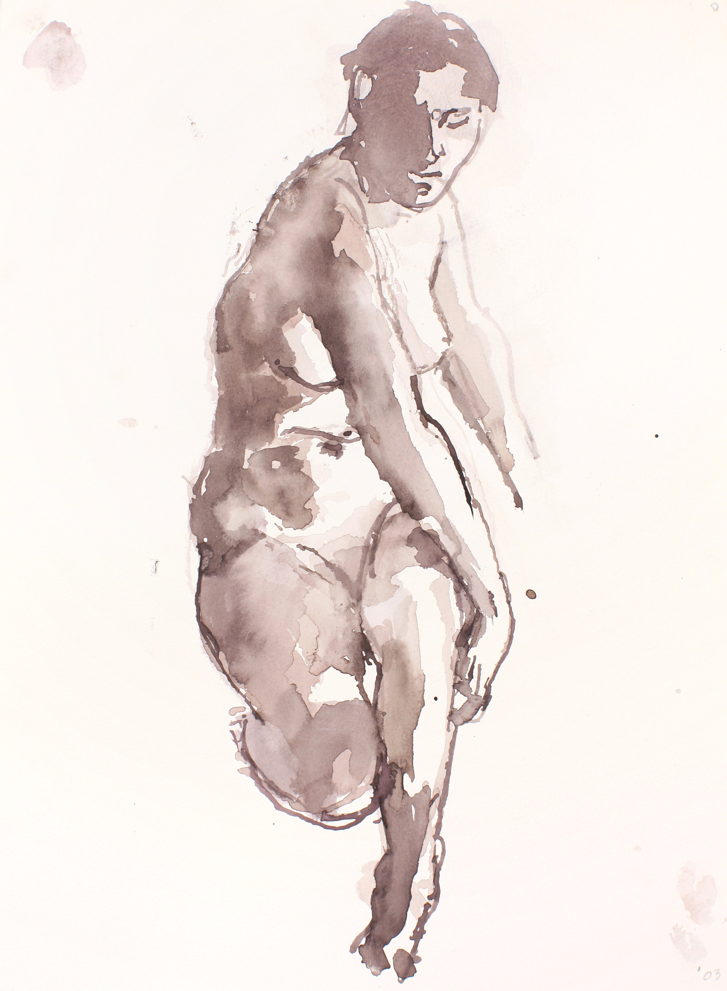 2003_Seated_Nude_with_Arms_at_Right_Side_watercolour_on_paper_15x11in_WPF234.jpg