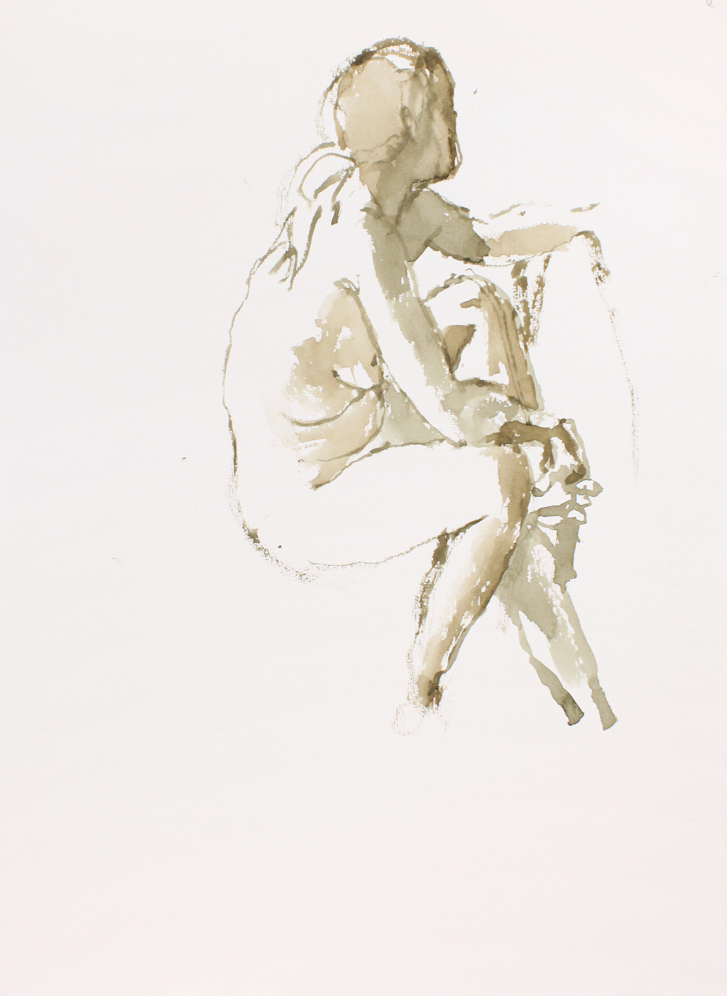2004_Nude_on_Sofa_with_Head_Turned_Away_to_Right_watercolour_on_paper_15x11in_WPF266.jpg