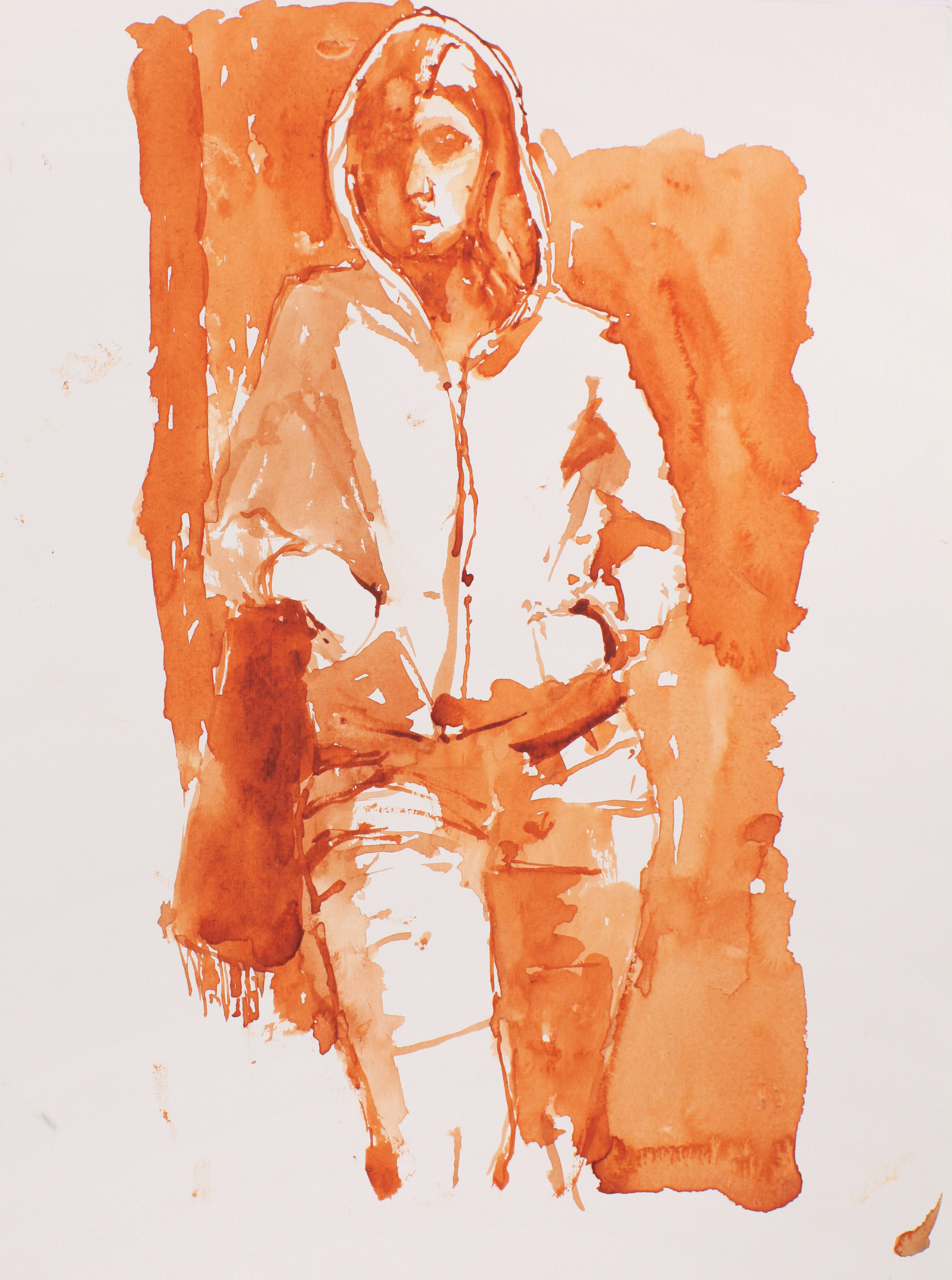 2004_Woman_with_Hooded_Sweater_watercolour_and_red_conte_on_paper_15x11in_WPF129.jpg