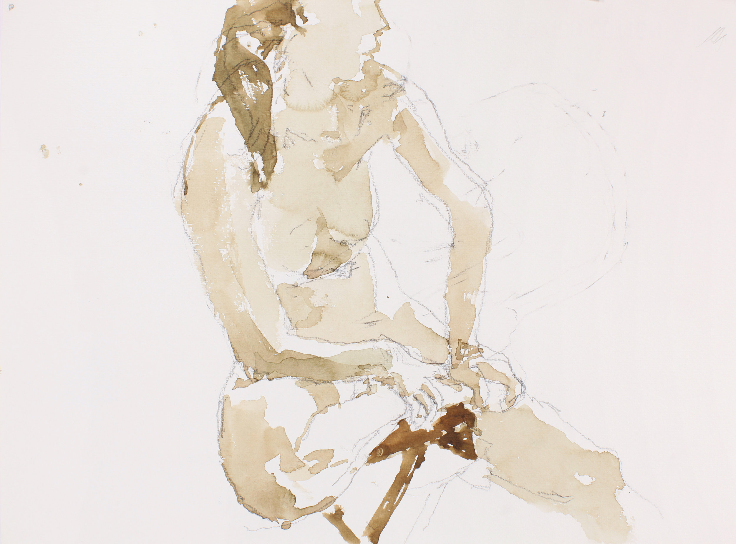 2005_Seated_Nude_Holding_Ankle_Profile_watercolour_and_pencil_on_paper_11x15in_28x38cm_WPF079.jpg