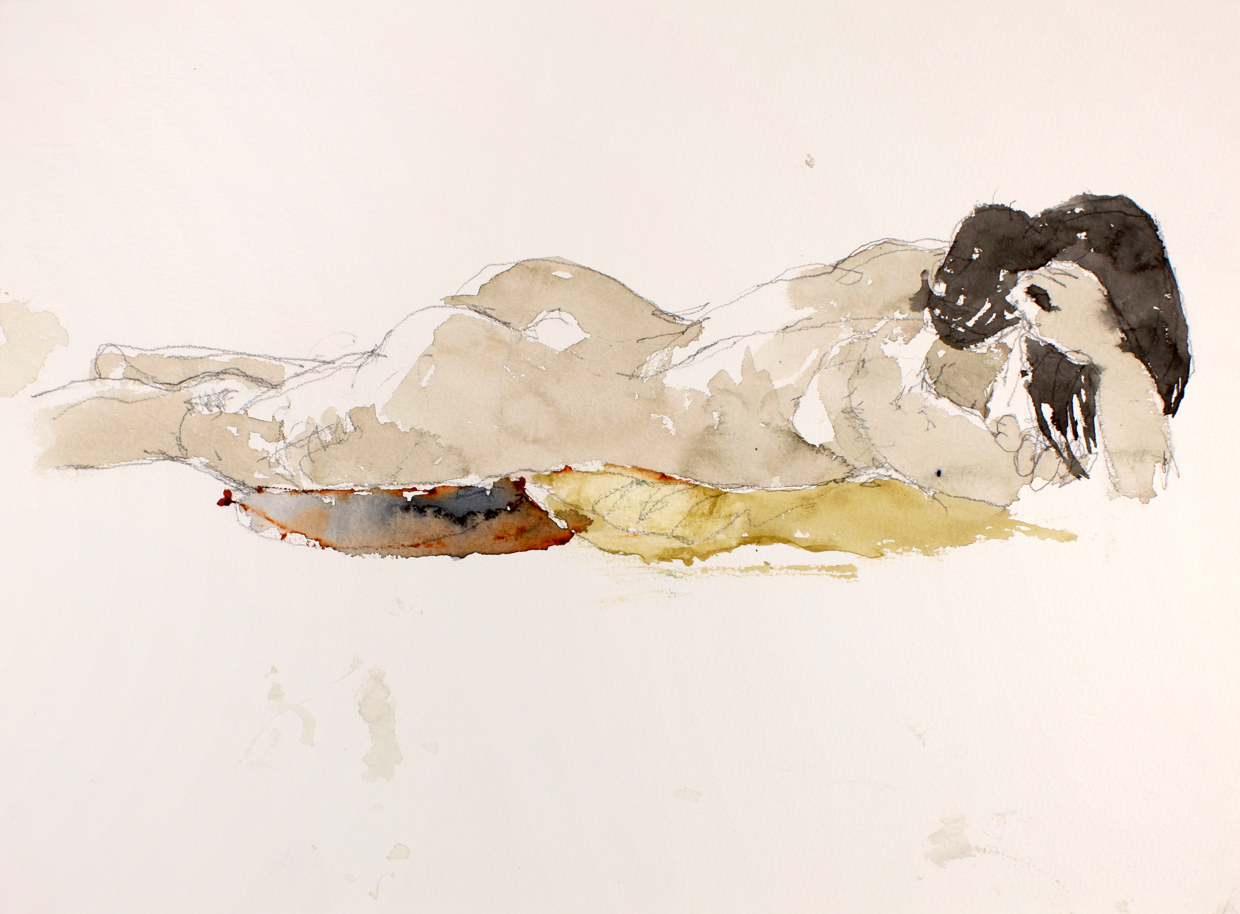 2006_Reclining_Nude_on_Pillows_watercolour_and_pencil_on_paper_11x15in_WPF218.jpg