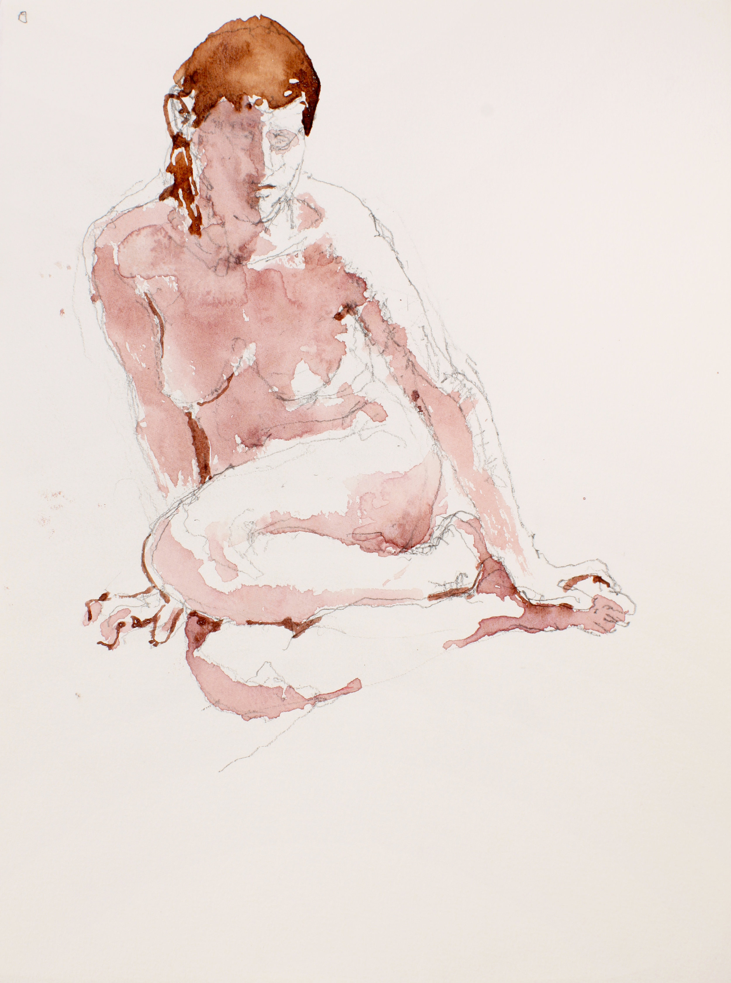 2007_Seated_Nude_with_Red_Hair_and_Tucked_Legs_watercolour_and_pencil_on_paper_15x11in_WPF511.jpg