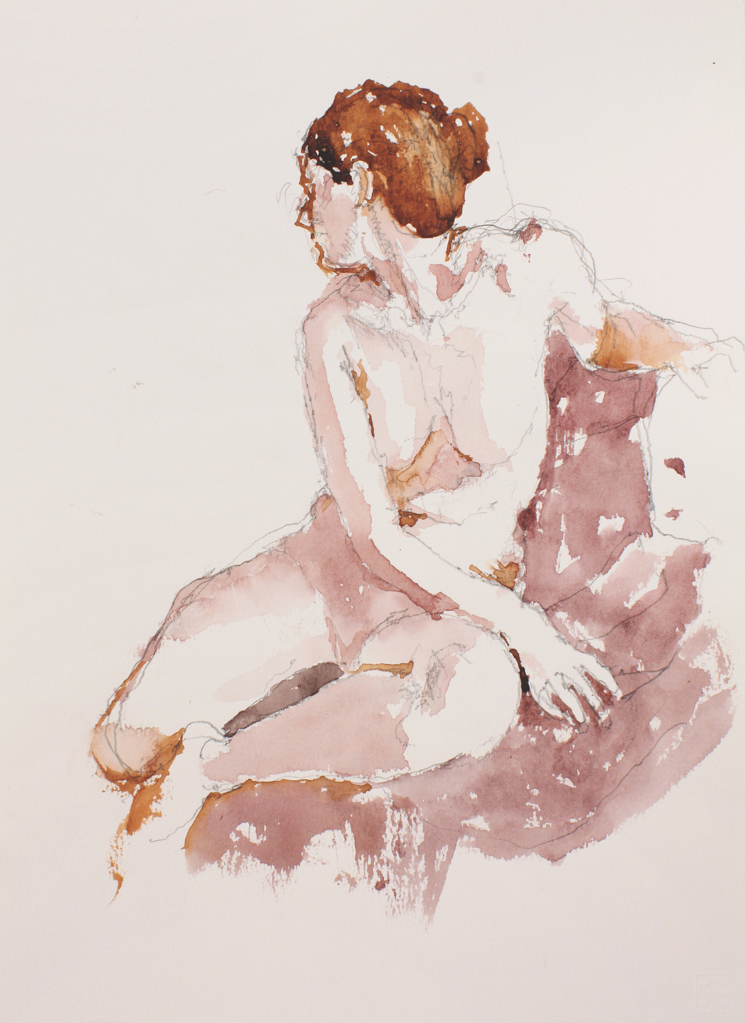2007_Seated_Nude_with_Turned_Head_watercolour_and_pencil_on_paper_15x11in_WPF221.jpg