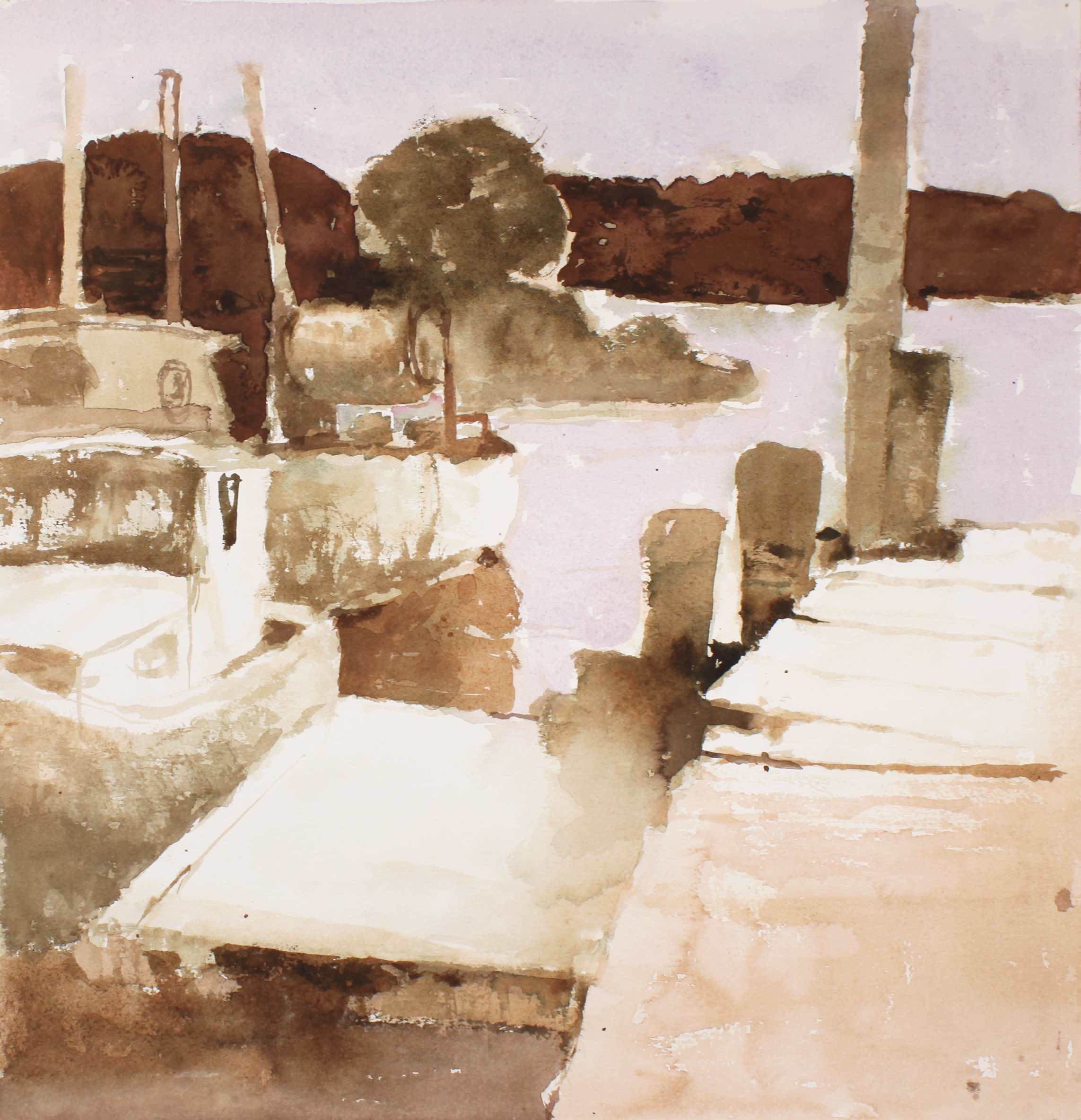 1980s_Boats_at_Dock_Maine_watercolour_on_paper_16x15in_WPF679.jpg