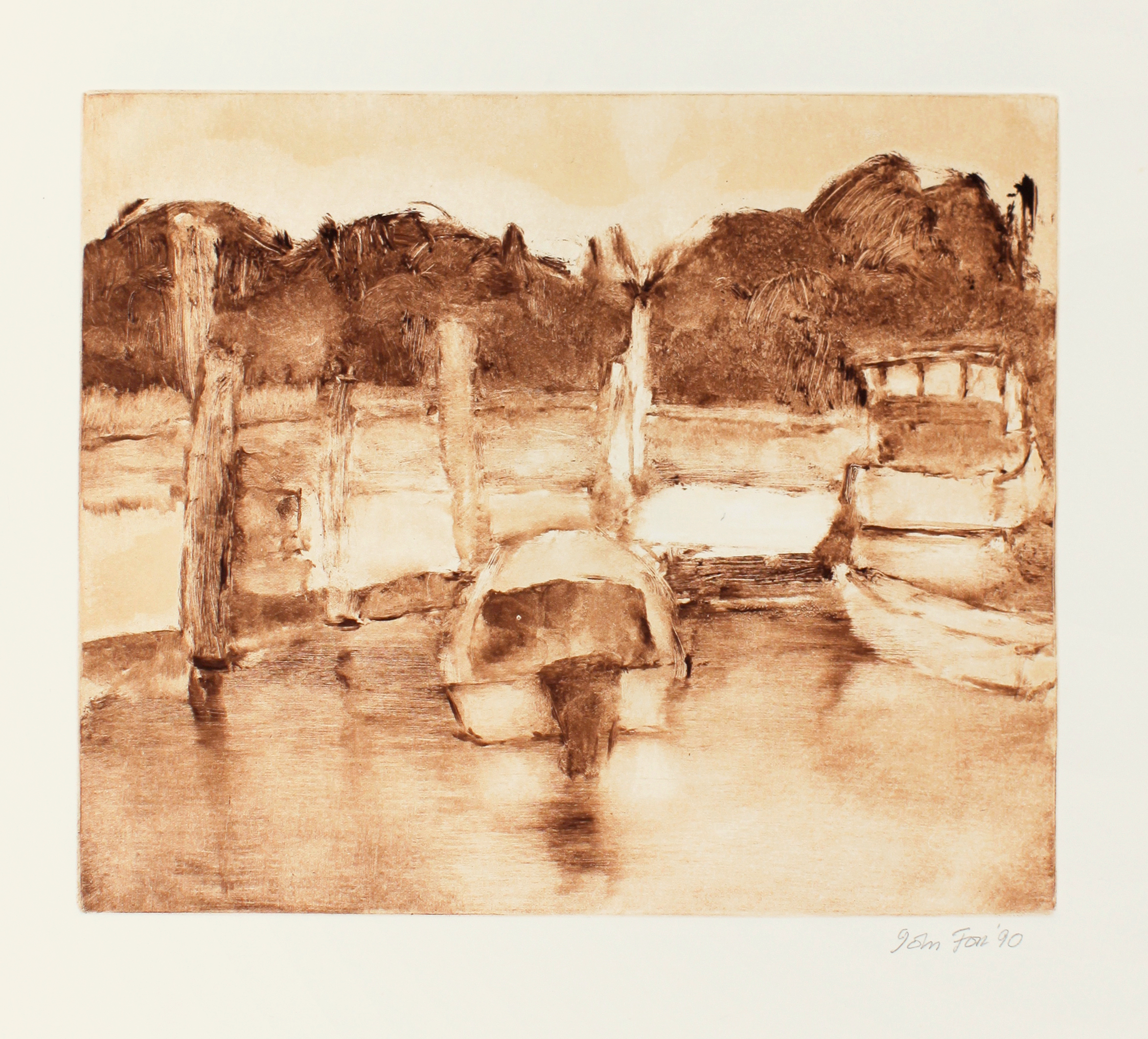 1990_Boats_Maine_monotype_oil_on_paper_13x15in_im_10x11in_WPF428.jpg