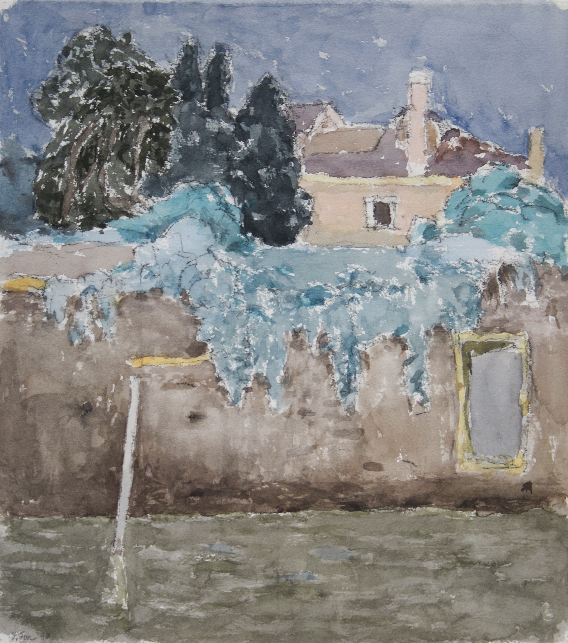 1993_Rio_della_Misercordia_Venice_watercolour_and_charcoal_on_paper_17x15in_43x38cm_WPF350.jpg