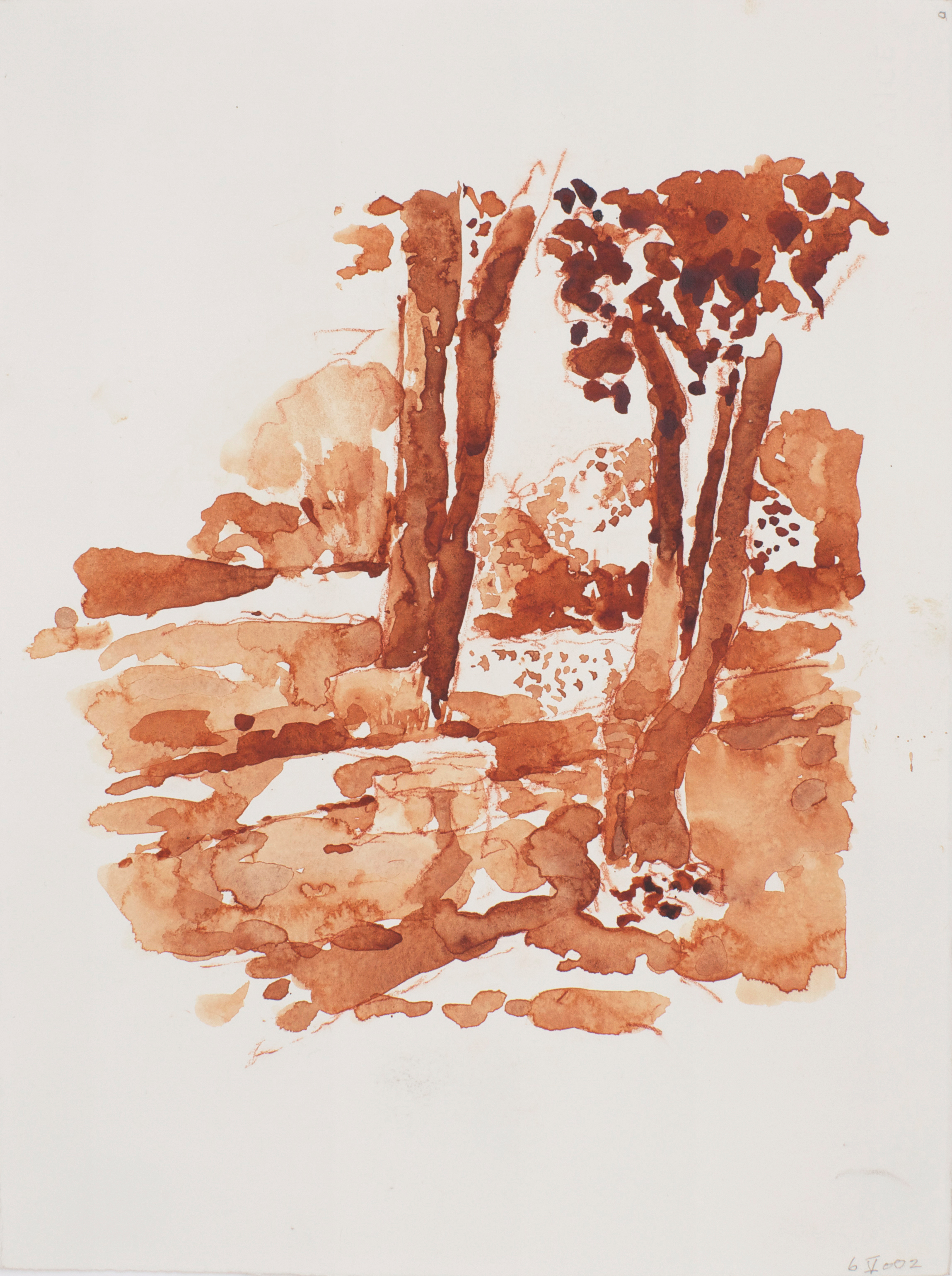 2002_Trees_of_Venice_watercolour_and_red_conte_on_paper_15x11in_WPF030.jpg