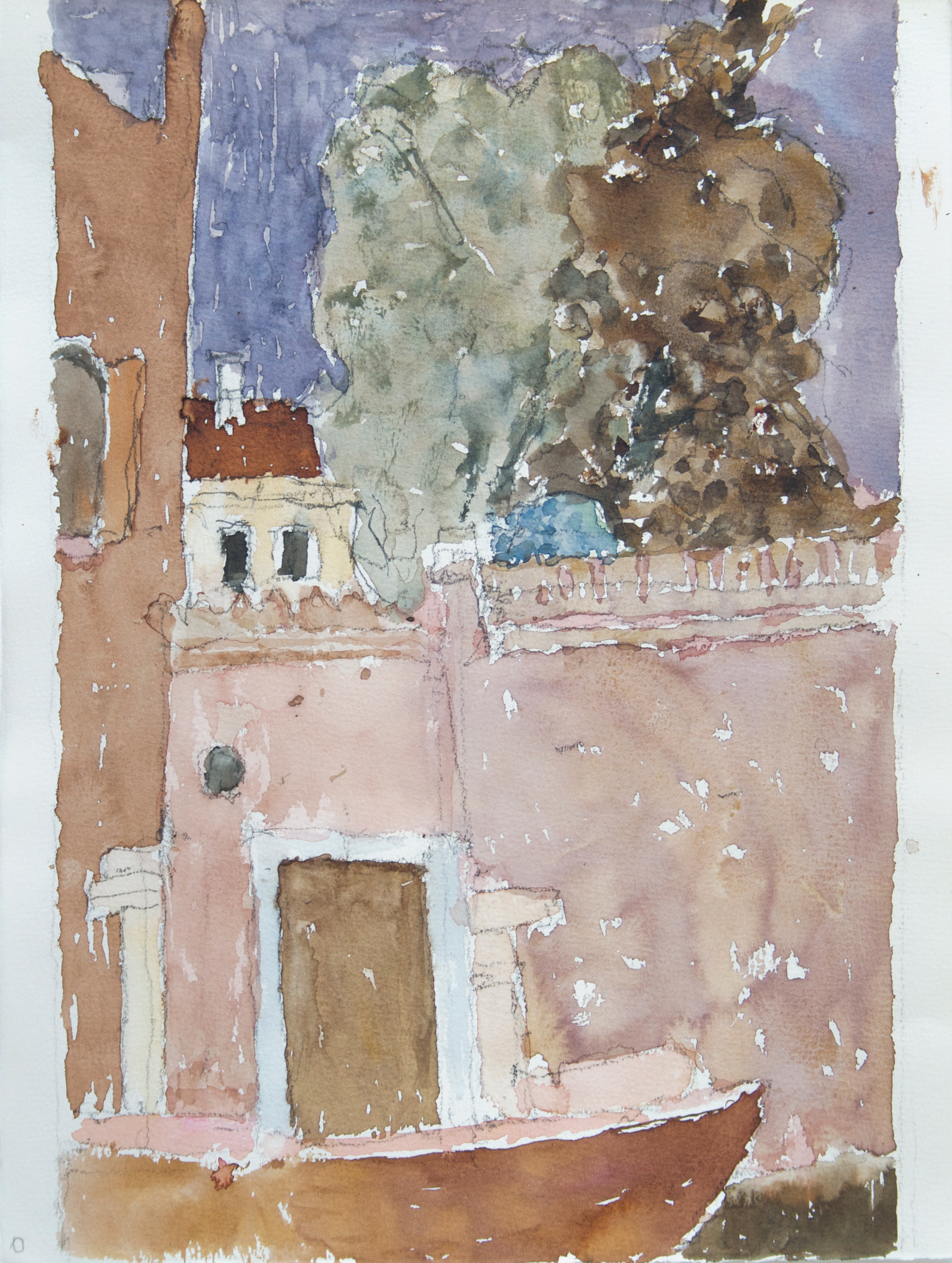 2006_Canal_with_Sandolo_Cannaregio_Venice_watercolour_and_pencil_on_paper_15x11in_WPF246.jpg