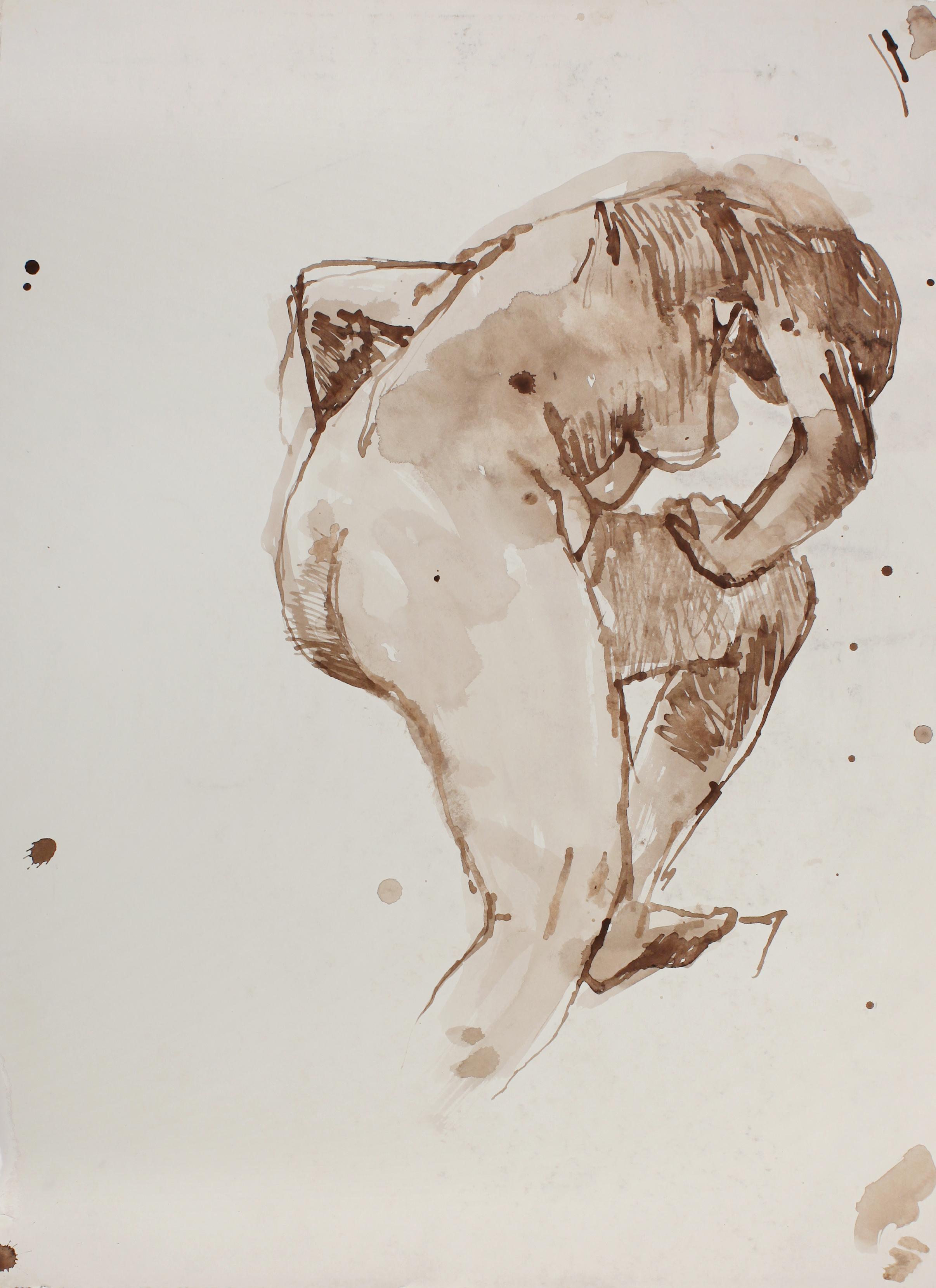 Figure Bending Over