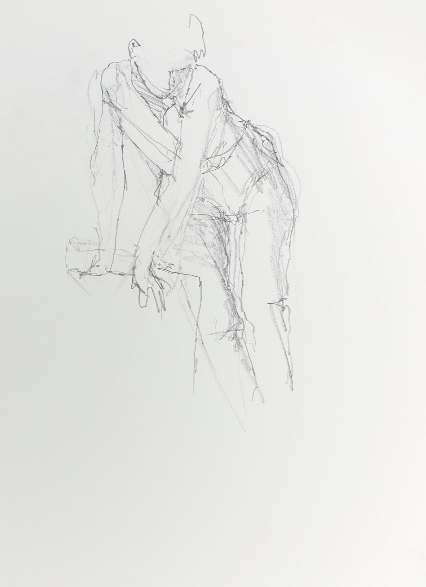 1990s_Figure_Leaning_on_Chair_pencil_on_paper_15x11in_WPF633.jpg