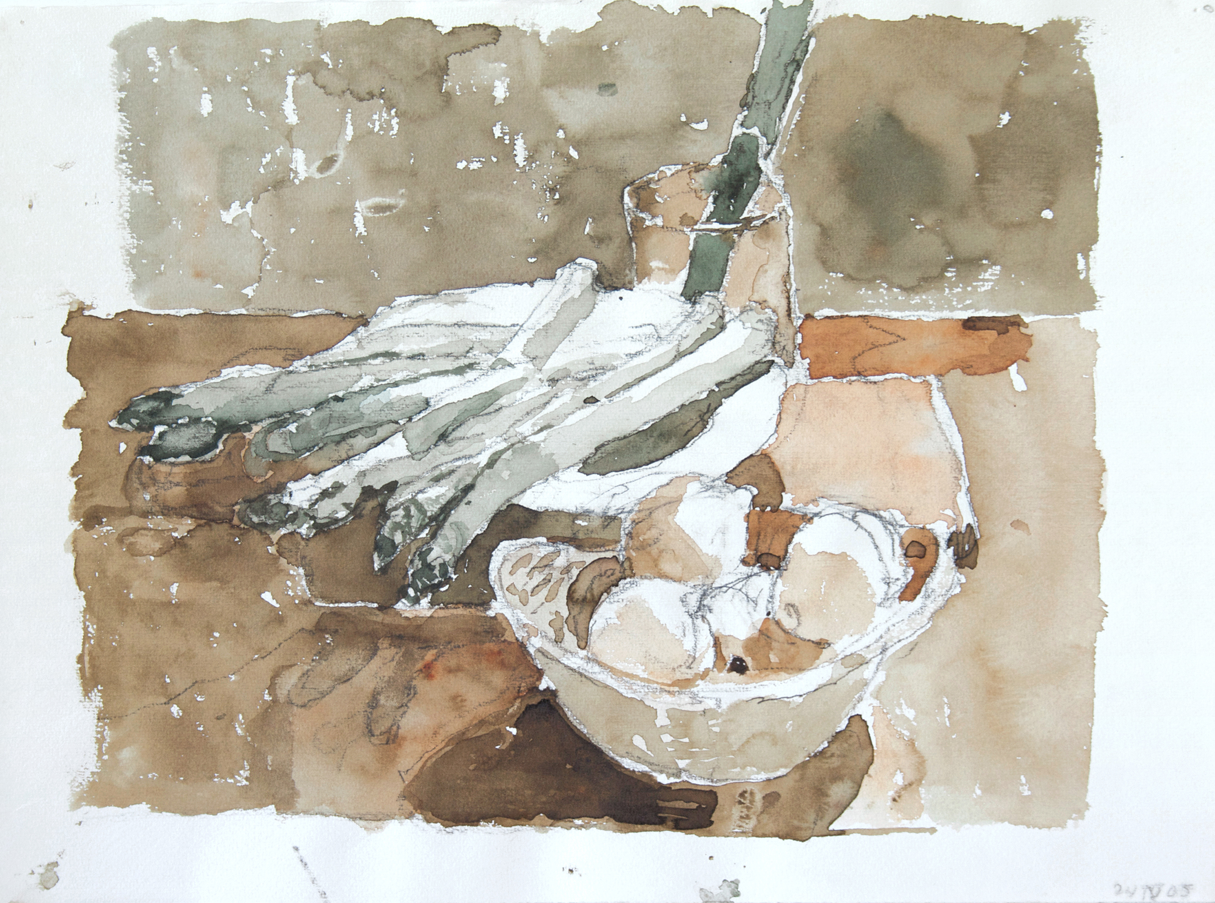 2005_Still_Life_with_Asparagus_Watercolour_and_pencil_on_paper_11x15inches_WPF395.jpg