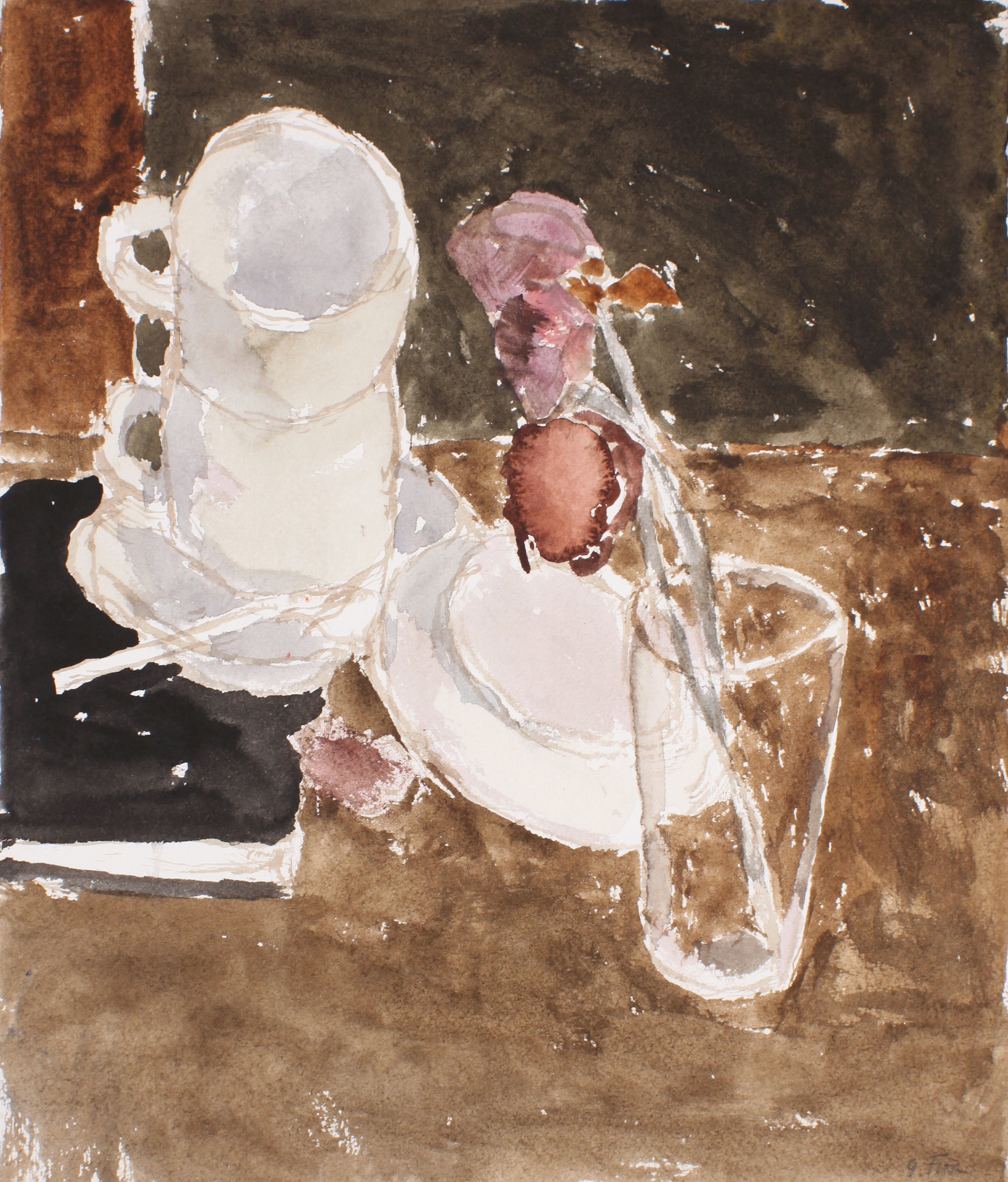 1990s_Still_Life_with_Cups_and_Roses_watercolour_on_paper_13x11in_WPF650.jpg