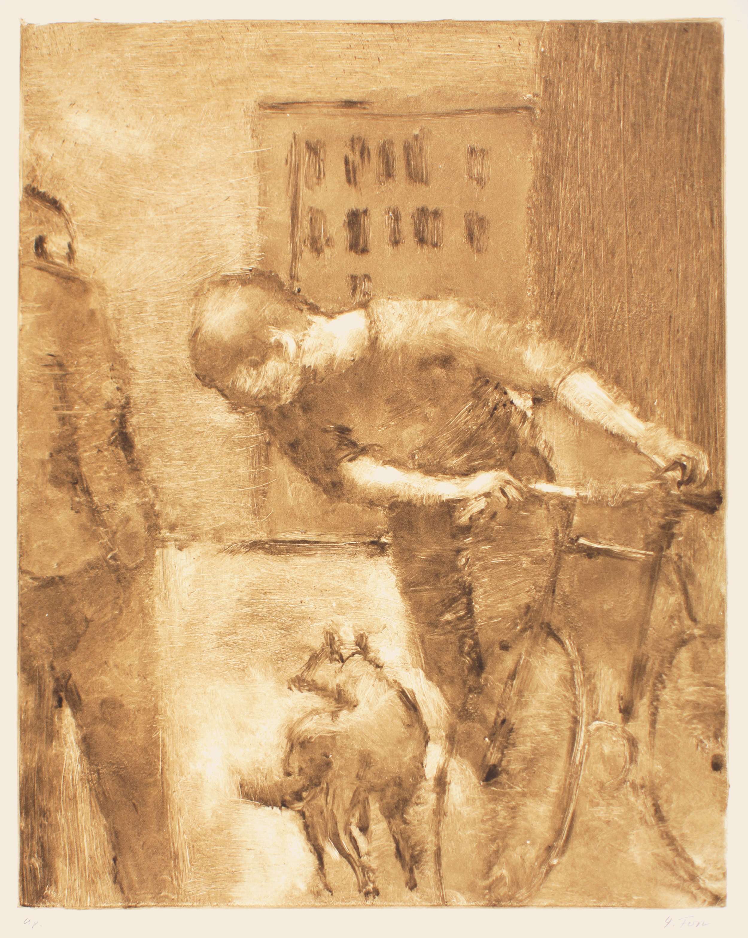 1989_Boy_with_Bicycle_and_Dog_monotype_on_paper_30x22in_image15x12in_ap_WPF439.jpg