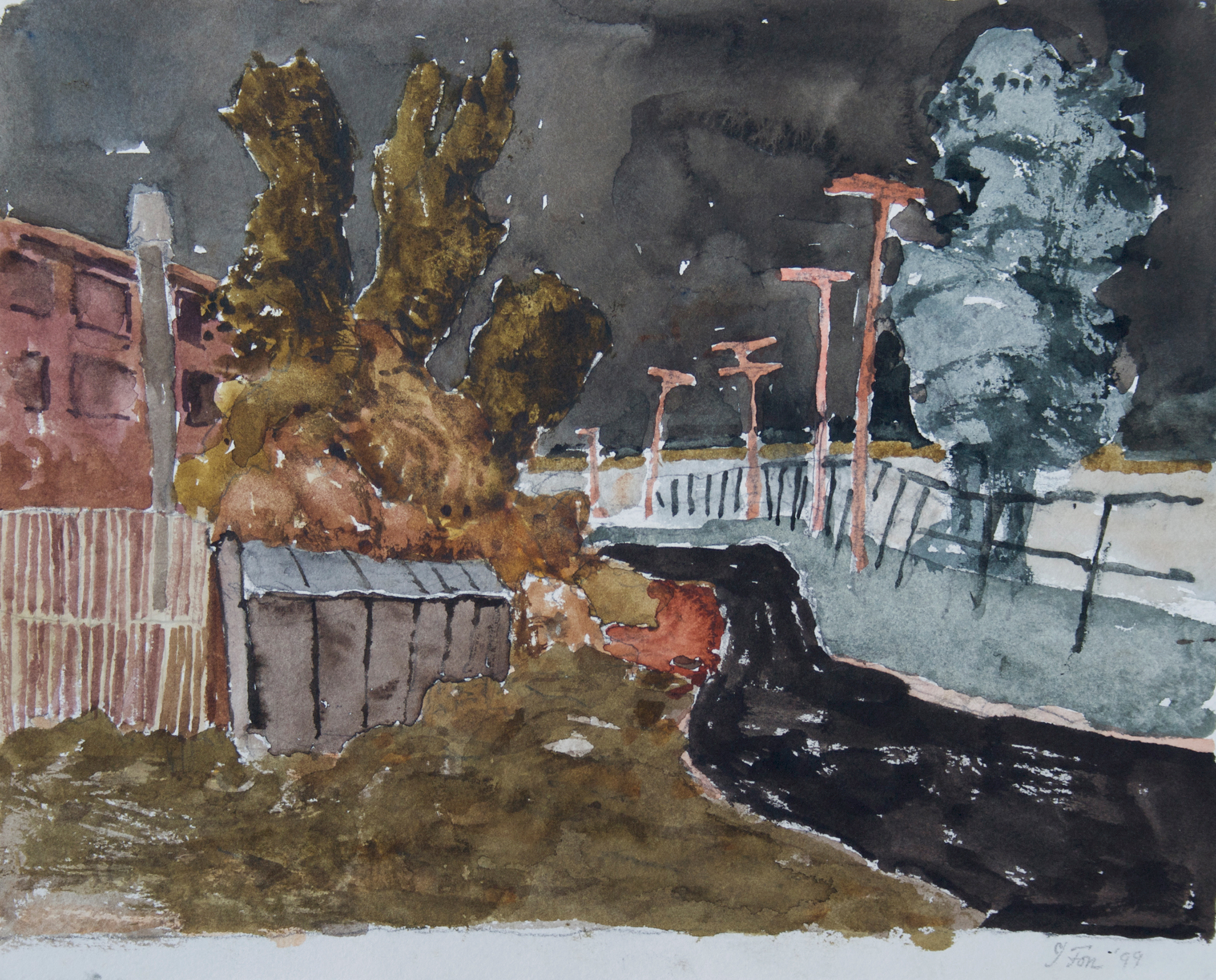 1999_St_Henri_with_Path_Montreal_watercolour_on_paper_11x14in_28x36cm_WPF161.jpg