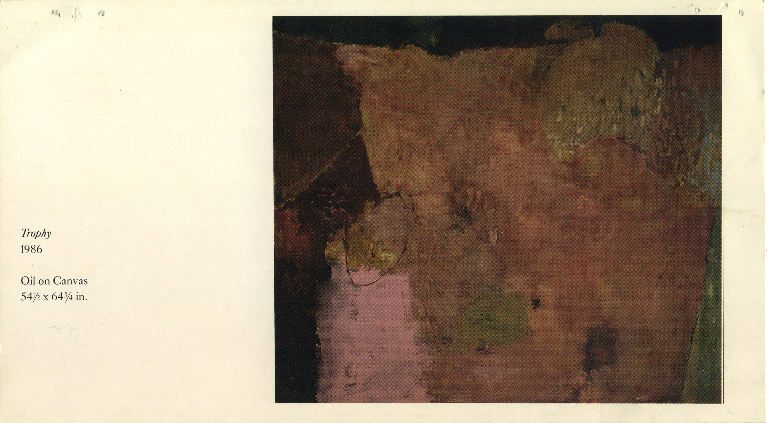 1986, Mira Godard Gallery, Toronto