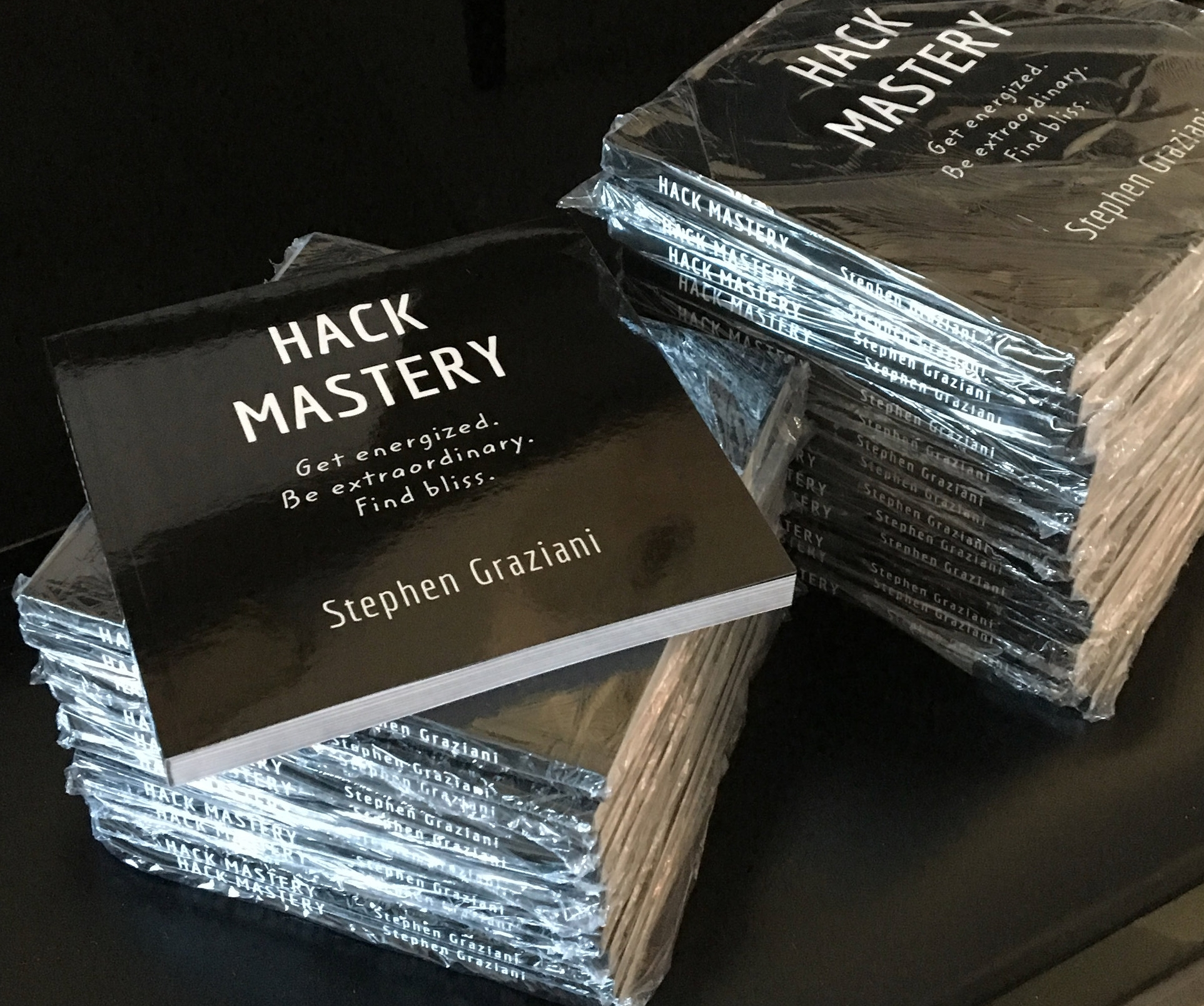 Hack Mastery - a book about success and fulfillment.