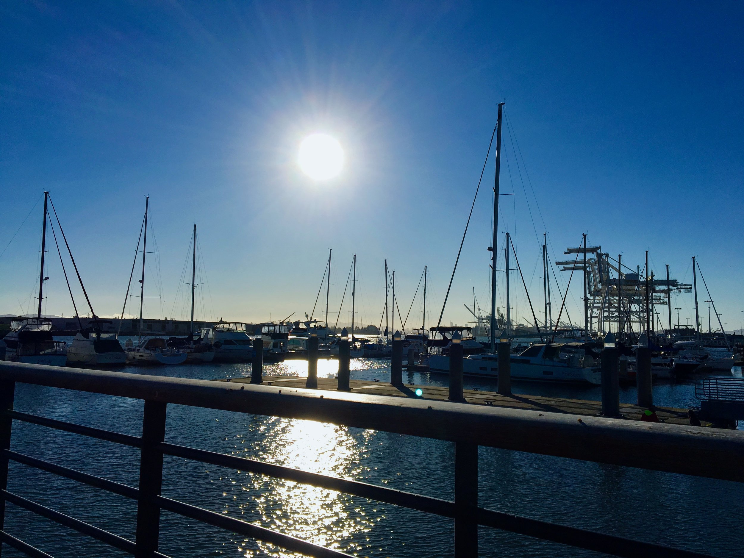 Jack London Square Marina