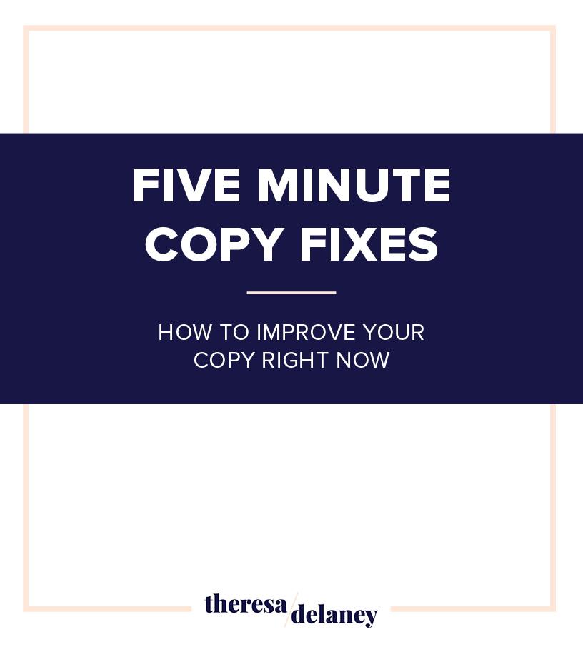 Five-Minute-Copy-Fixes-Improve-Your-Copy-Right-Now