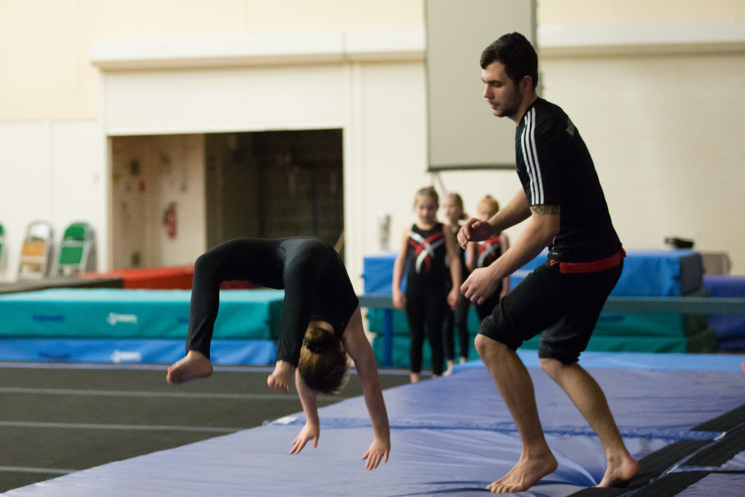 Advanced Gymnastics - Advanced Gymnastics classes are for those with substantial experience and ready to start exploring complex movements including somersaults & free rotational skills. The classes operate the Bracknell Gymnastics Club badge scheme covering badges 9 and upwards.