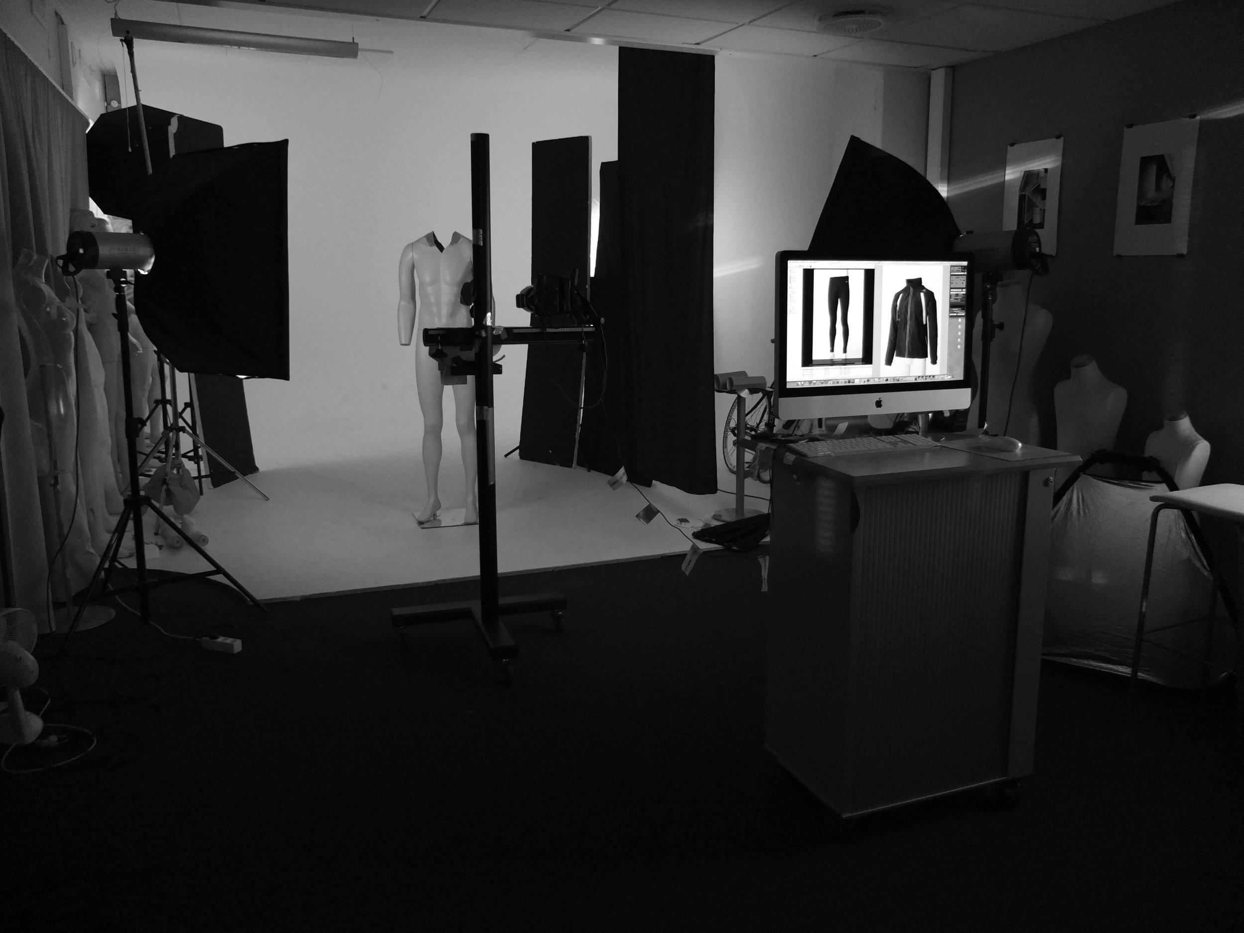 Studio veggene er levert av Rune Skogen i  studiowalls.no