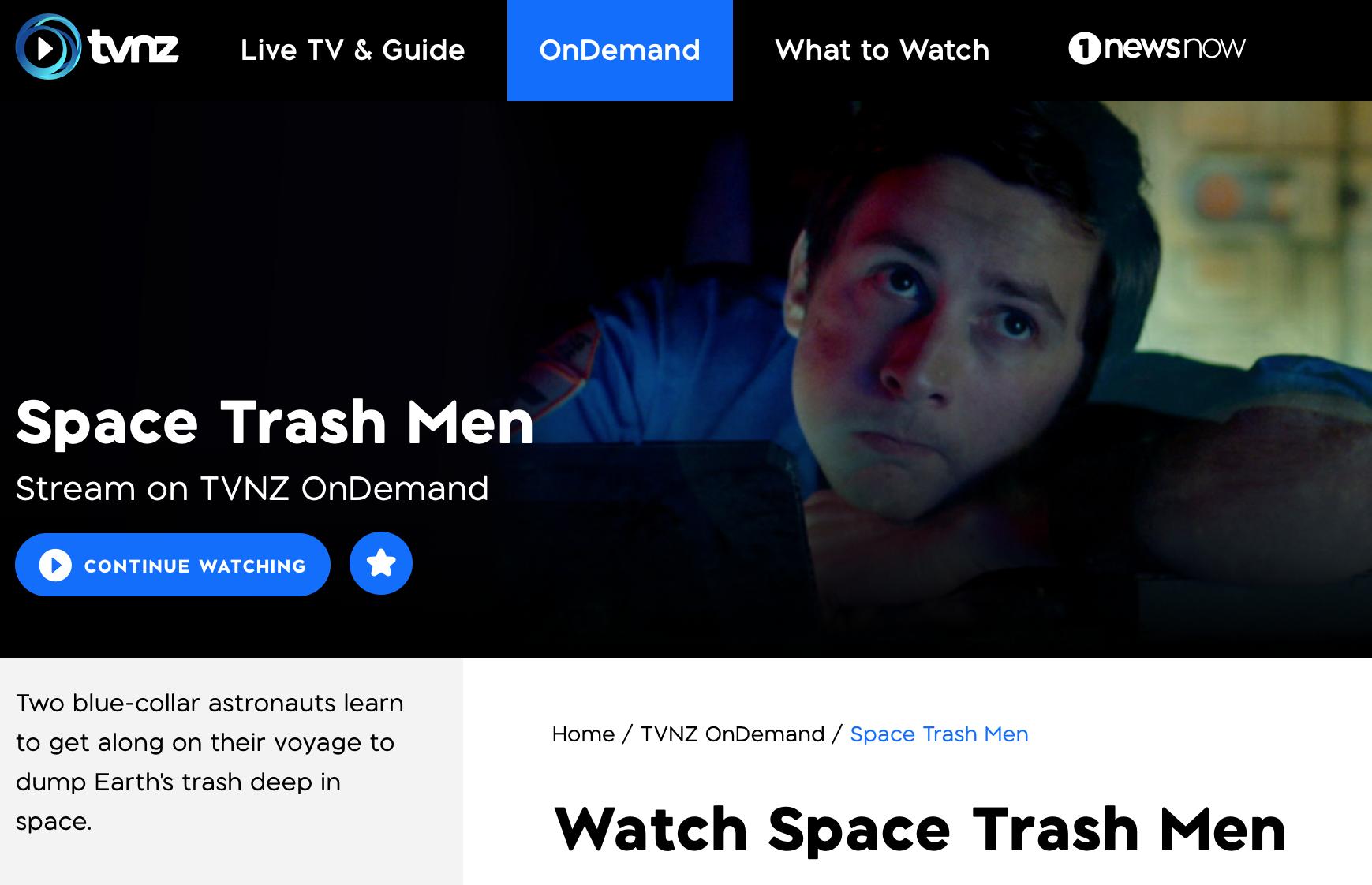 Watch Space Trash Men online Ben Childs