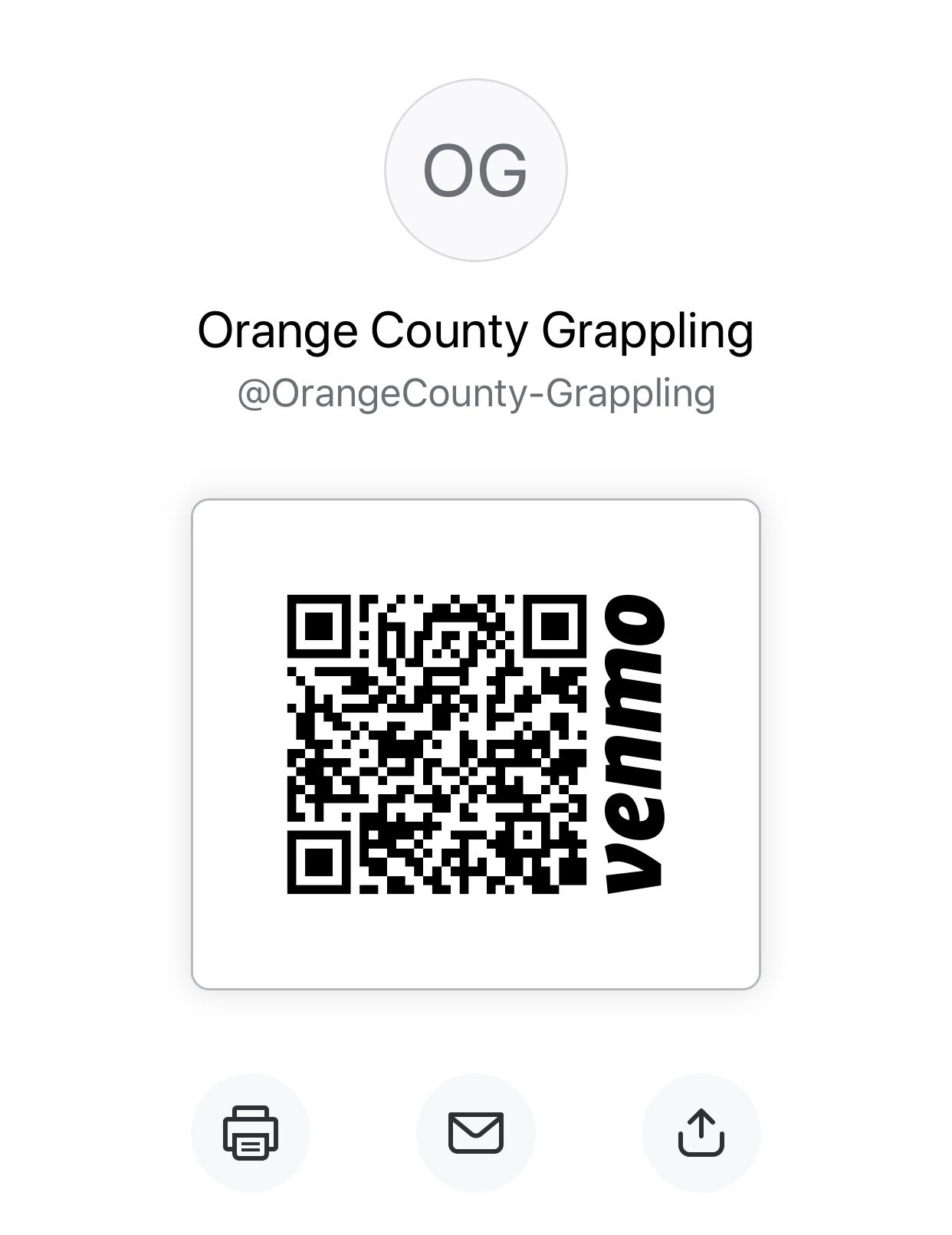 USE THIS QR CODE FOR VENMO PAYMENT PURPOSES PLEASE.