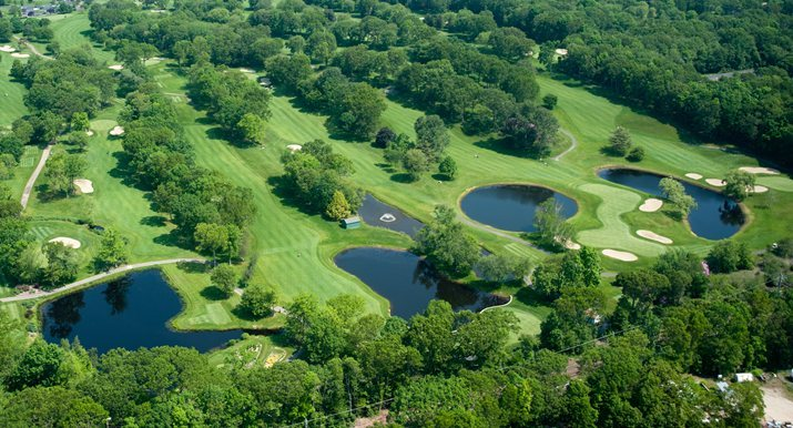 Clinton Country Club, Aerial View