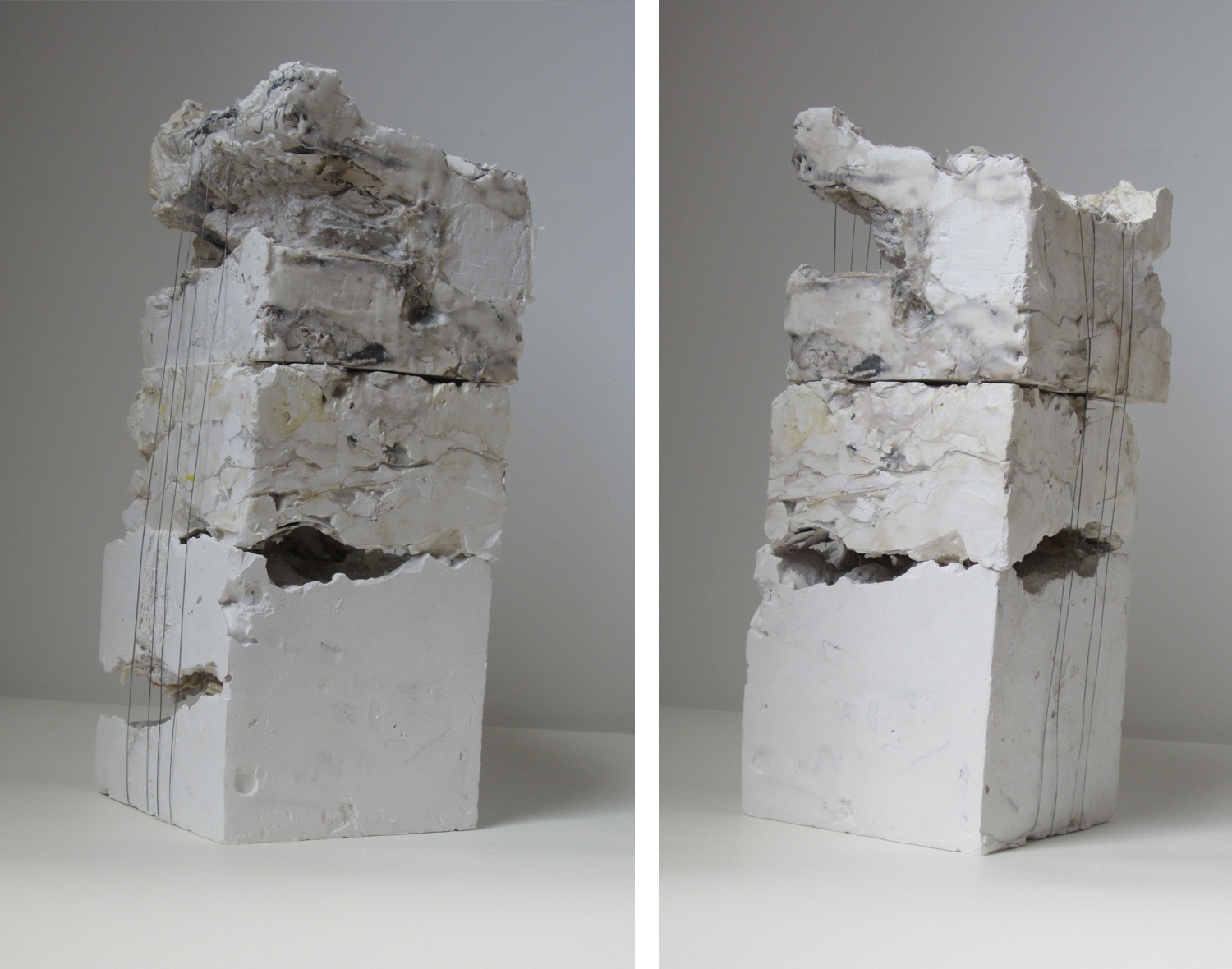 SixSidedSolid3  | 2012 | mixed media | 12 x 5 x 5