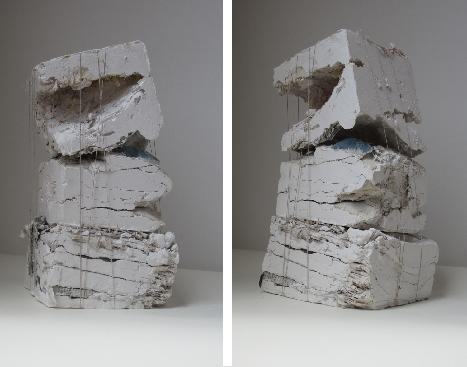 SixSidedSolid1  | 2012 | mixed media | 12 x 5 x 5