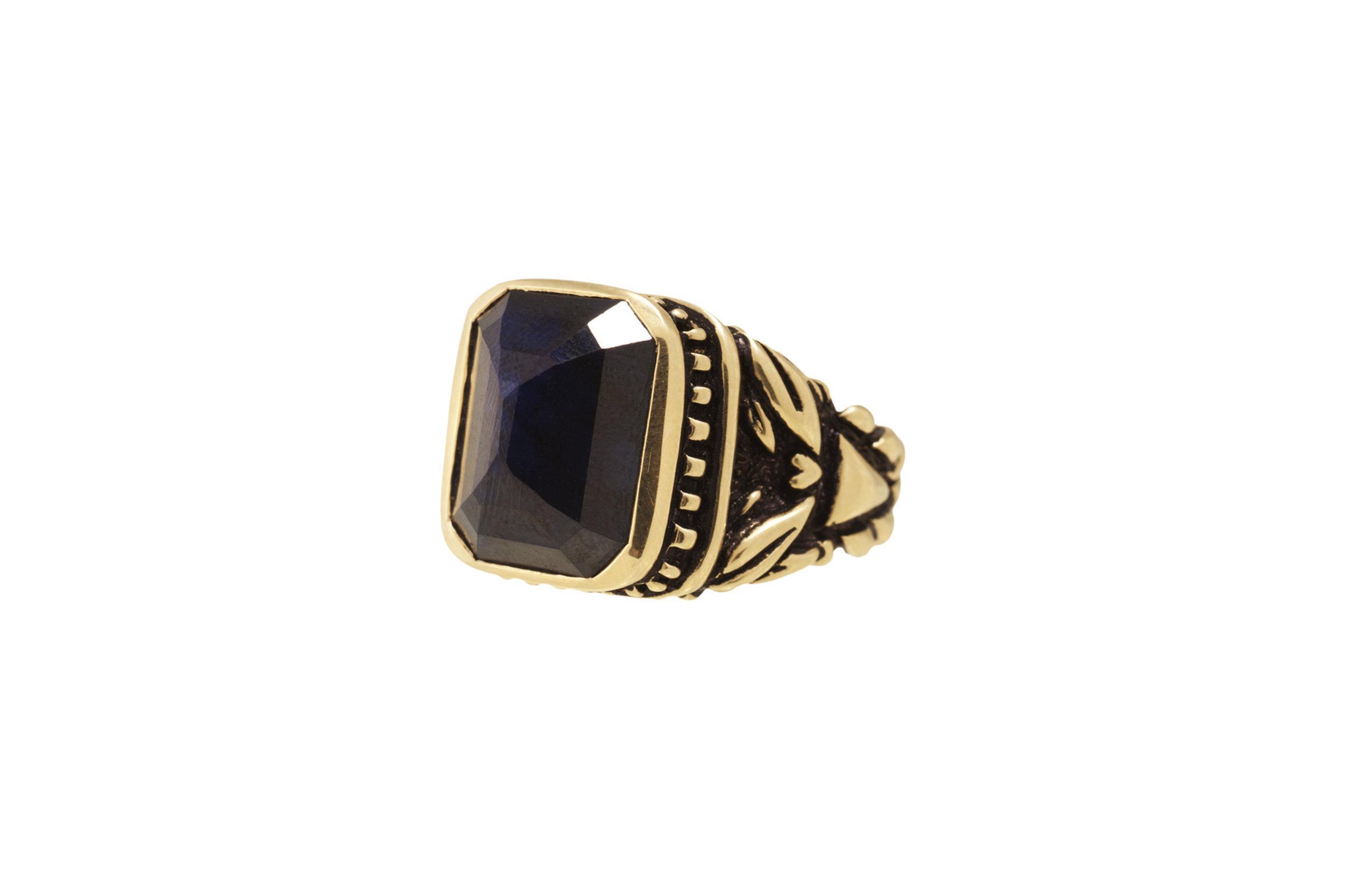 14k unisex sapphire pyramid ring.jpg