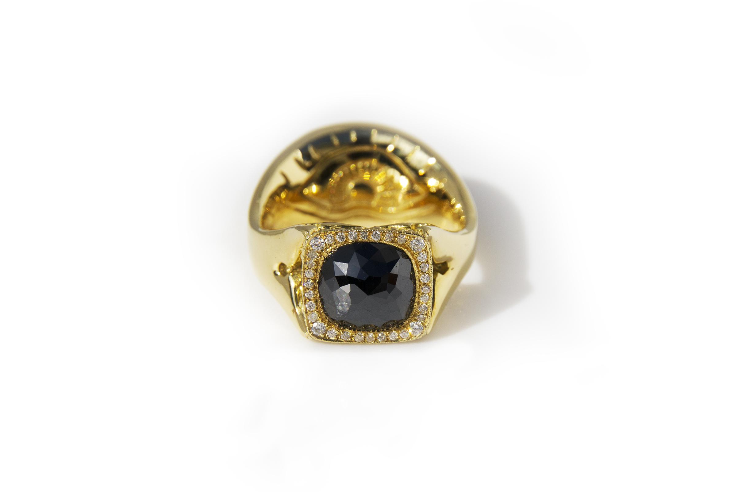 18k black diamond, double sided engagement ring.jpg